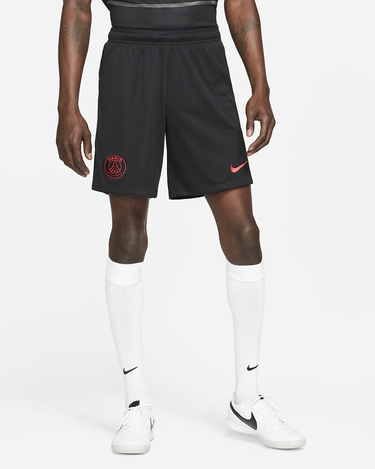 Calções de futebol Nike Dri-FIT do terceiro equipamento Stadium Paris Saint-Germain 2021/22 para homem