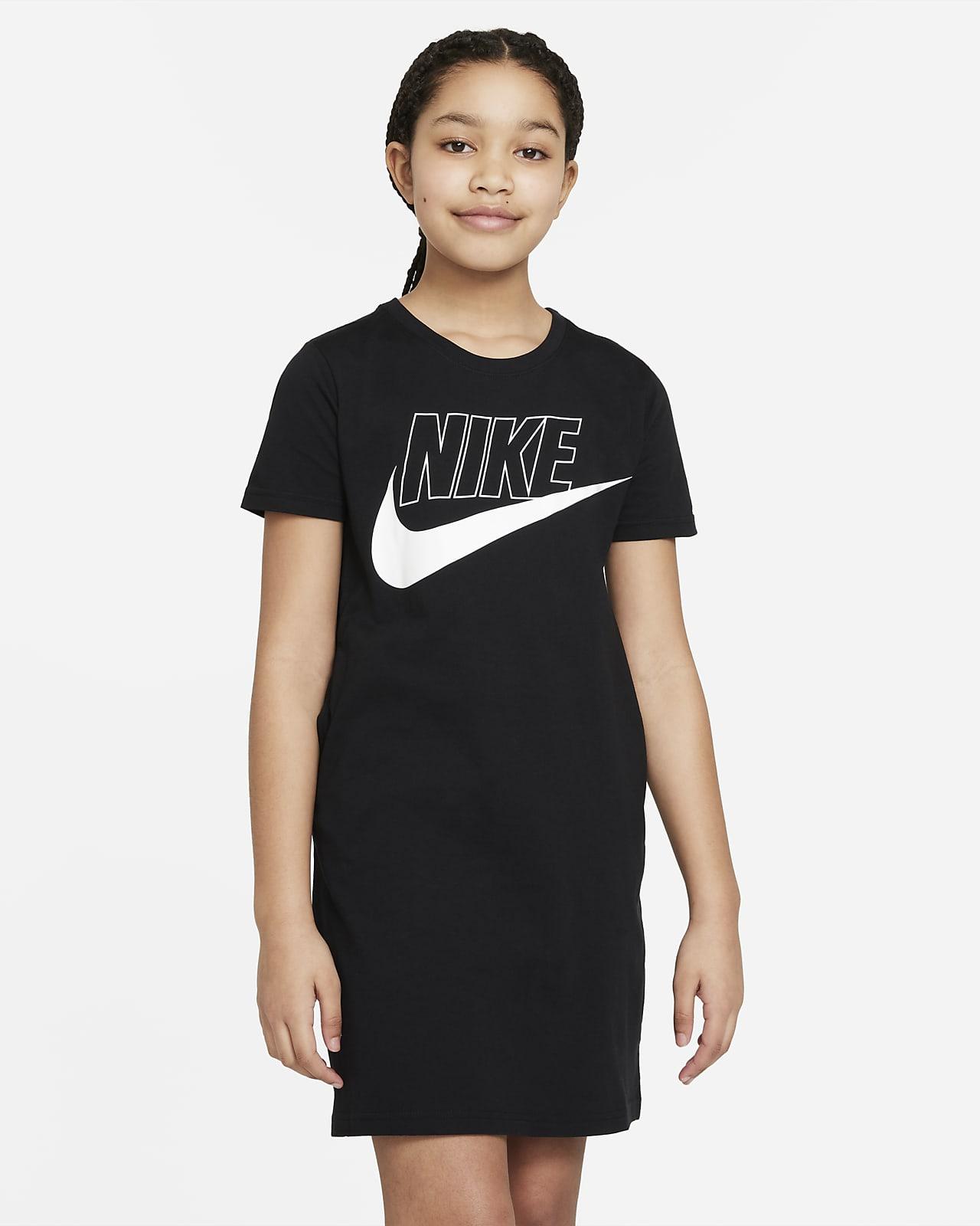 Nike Sportswear T Shirt Kleid für ältere Kinder Mädchen