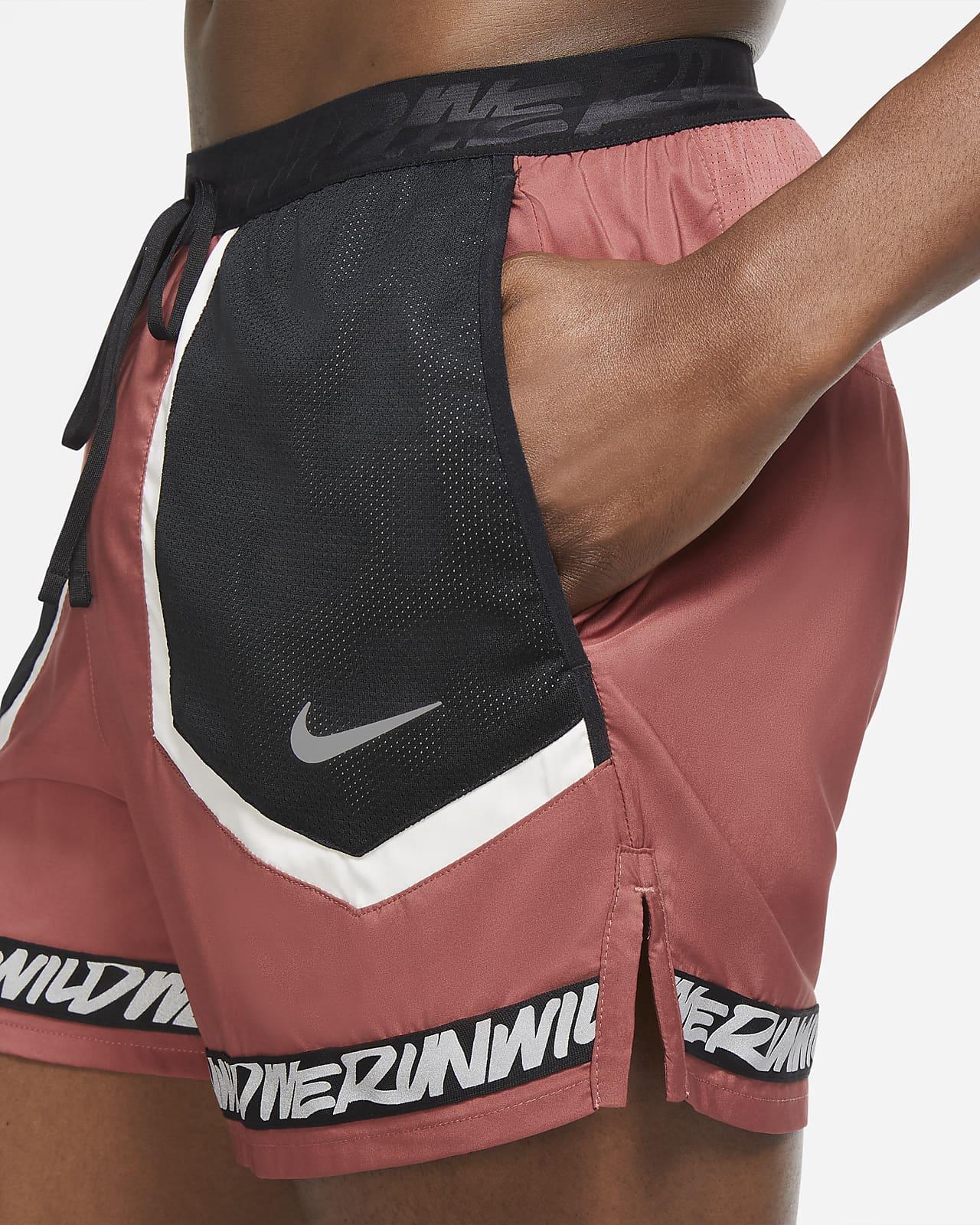 Short de running avec sous short intégré Nike Flex Stride Wild Run pour Homme