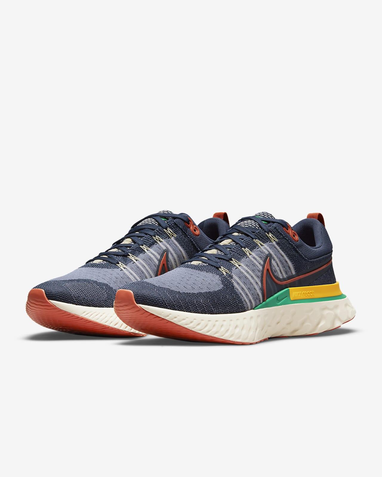 Nike React Infinity Run Flyknit 2 Men's Running Shoe. Nike GB