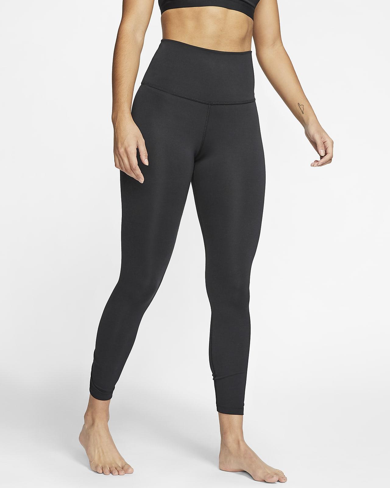 Tights a 7/8 com pregas Nike Yoga para mulher