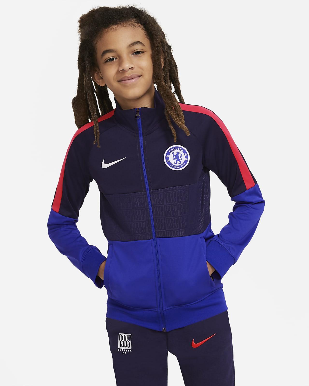 Chamarra de entrenamiento de fútbol para niños Chelsea FC
