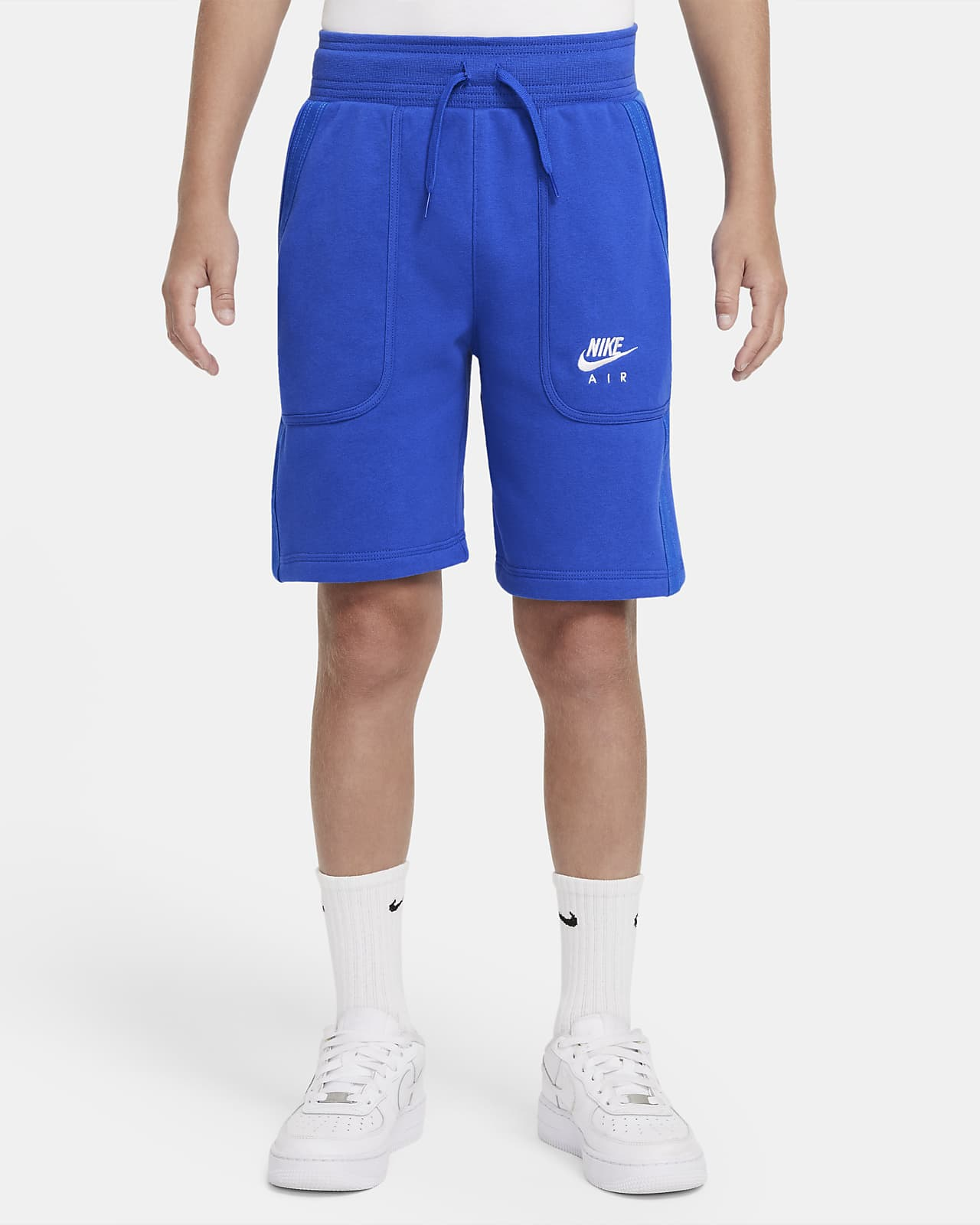 Nike Air-shorts i french terry til store børn (drenge)
