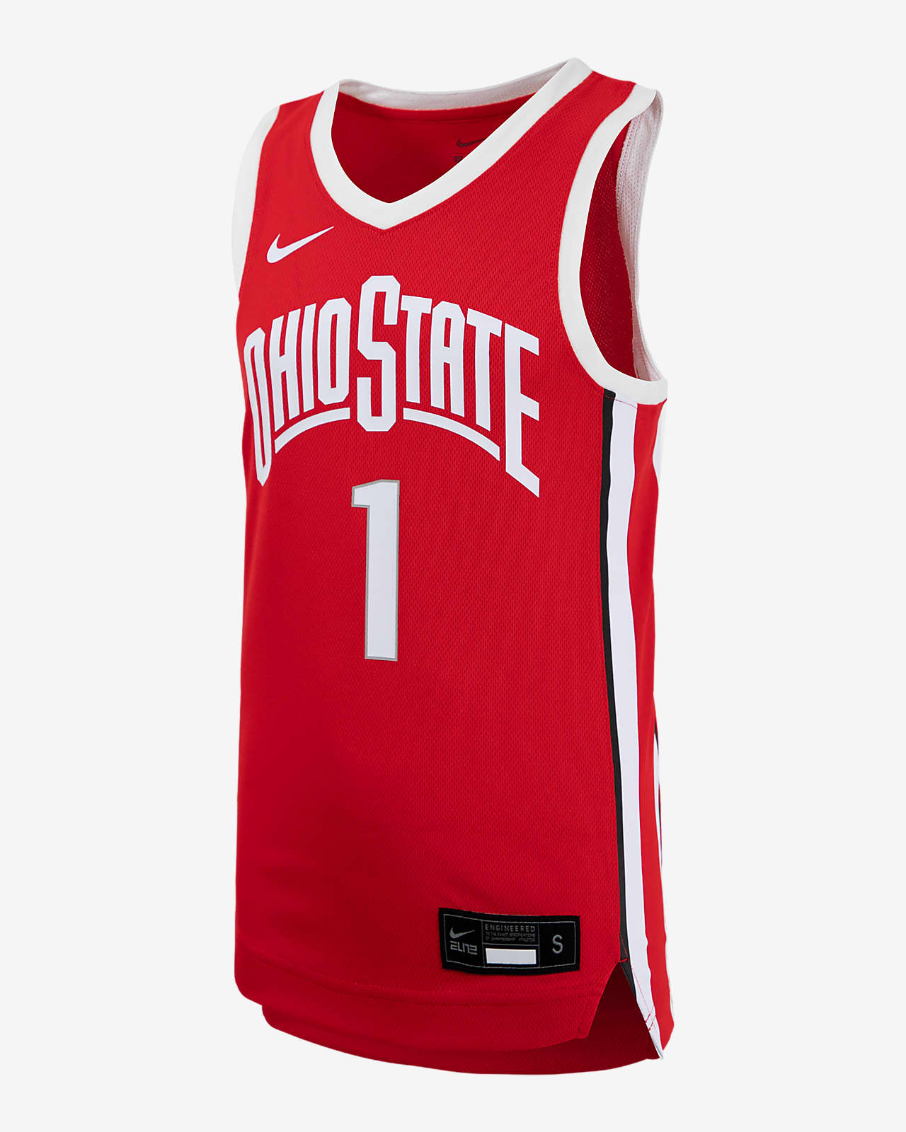 Nike College (Ohio State) Big Kids' Basketball Jersey