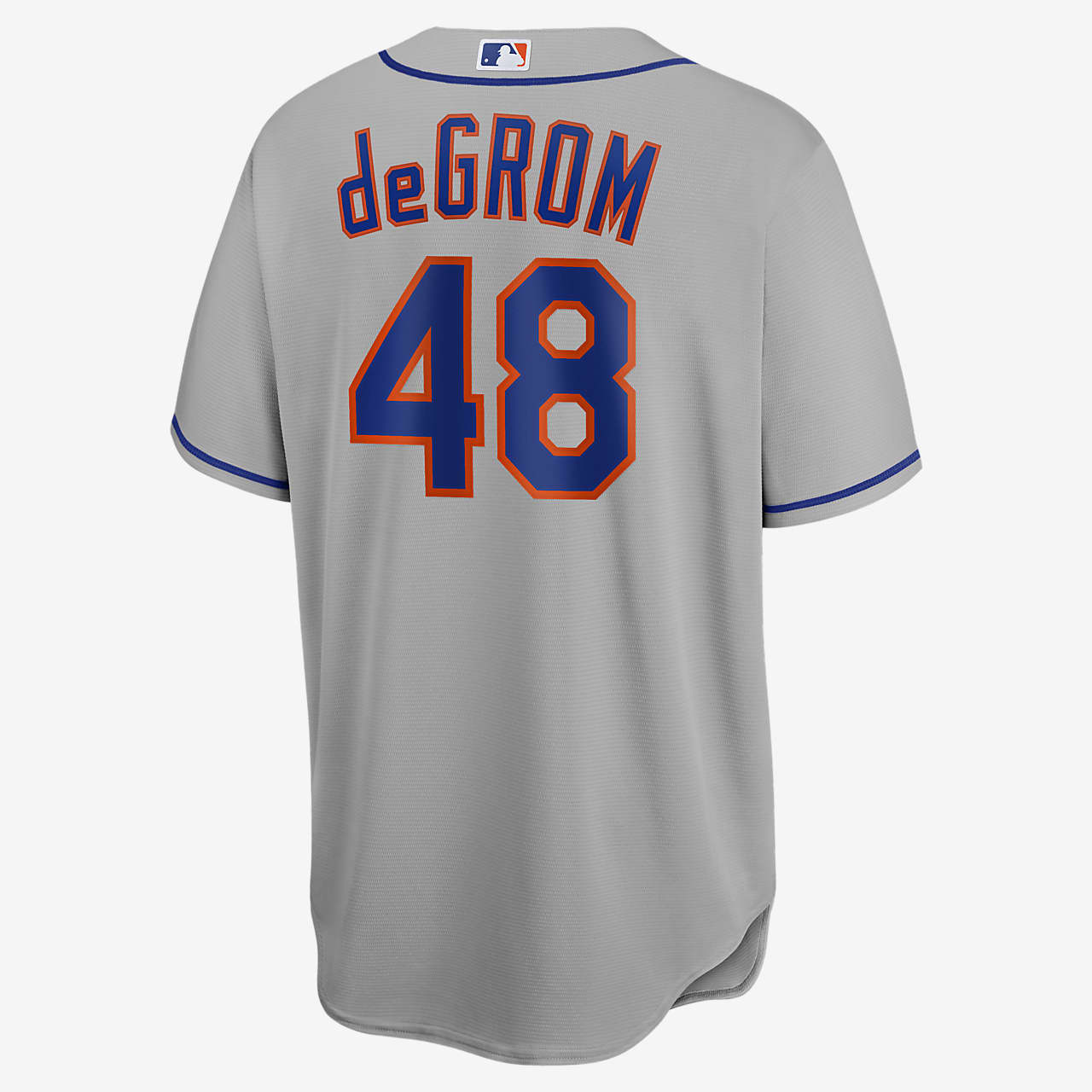 MLB New York Mets (Jacob deGrom) Men's Replica Baseball Jersey