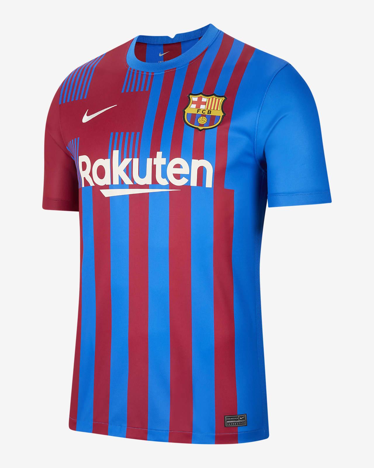 Camisola de futebol do equipamento principal Stadium FC Barcelona 2021/22 para homem