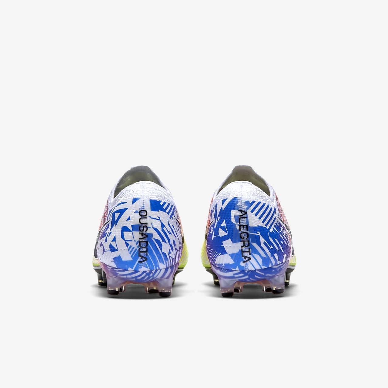 Chaussure de football à crampons pour terrain synthétique Nike Mercurial Vapor 13 Elite Neymar Jr. AG PRO