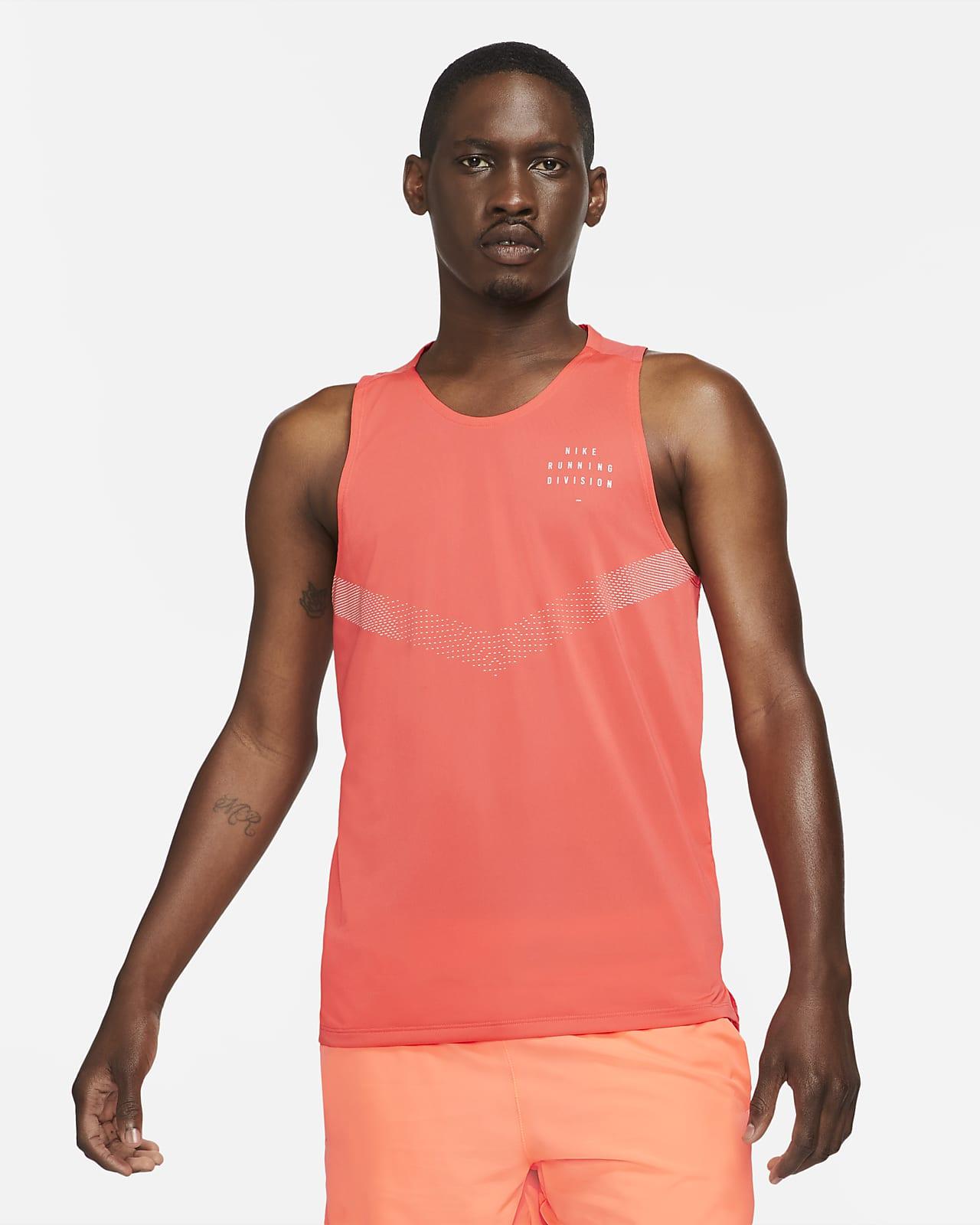 Ανδρικό φανελάκι για τρέξιμο Nike Dri-FIT Rise 365 Run Division