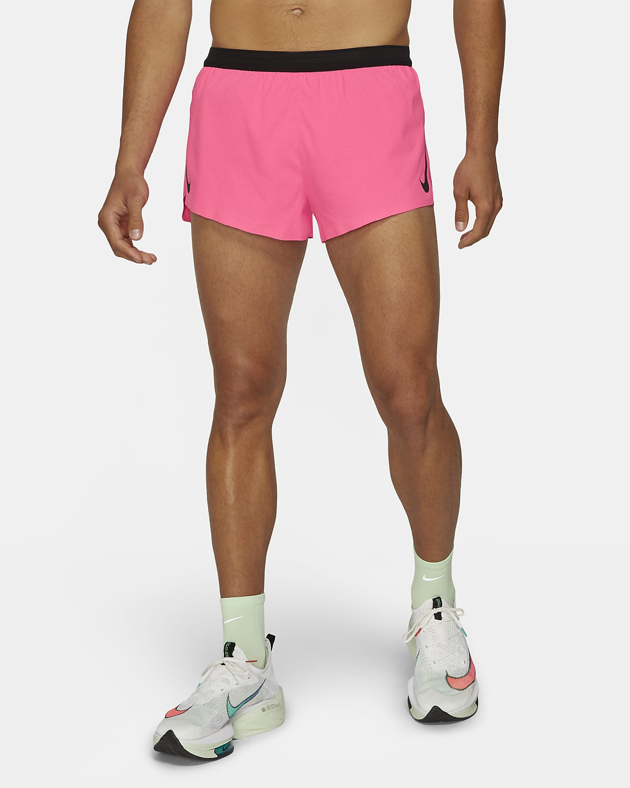 Short de running Nike AeroSwift 5 cm pour Homme
