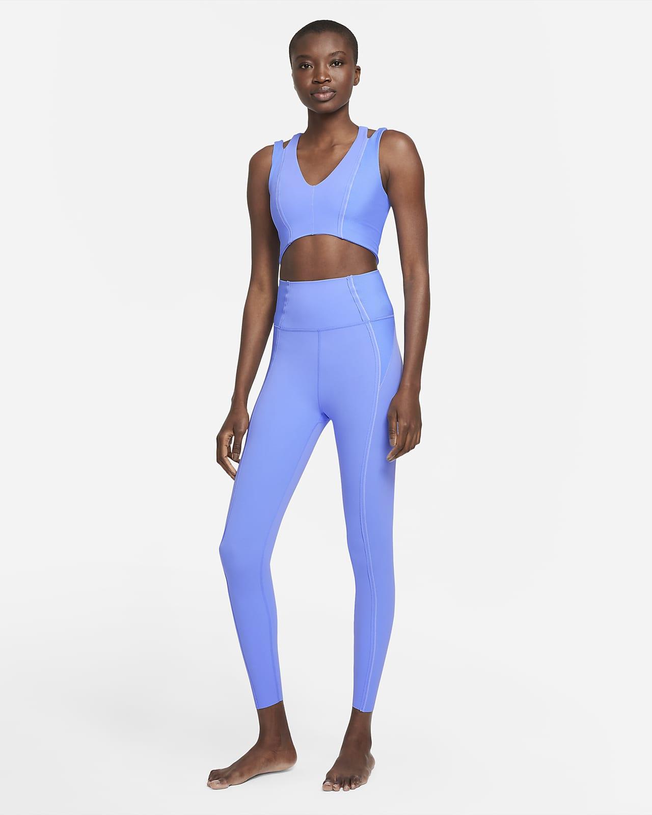 Nike Yoga Luxe Dri-FIT Jumpsuit van Infinalon voor dames
