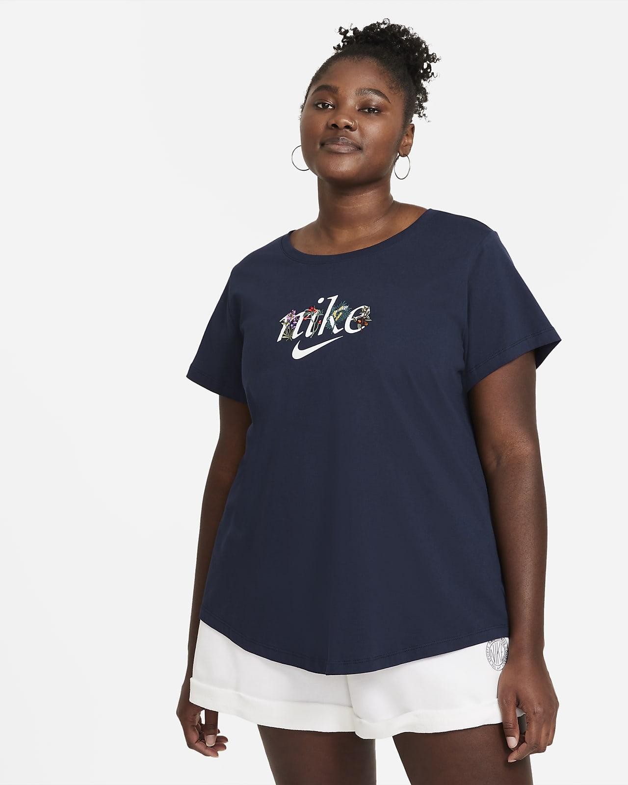 T-shirt damski Nike Sportswear (duże rozmiary)