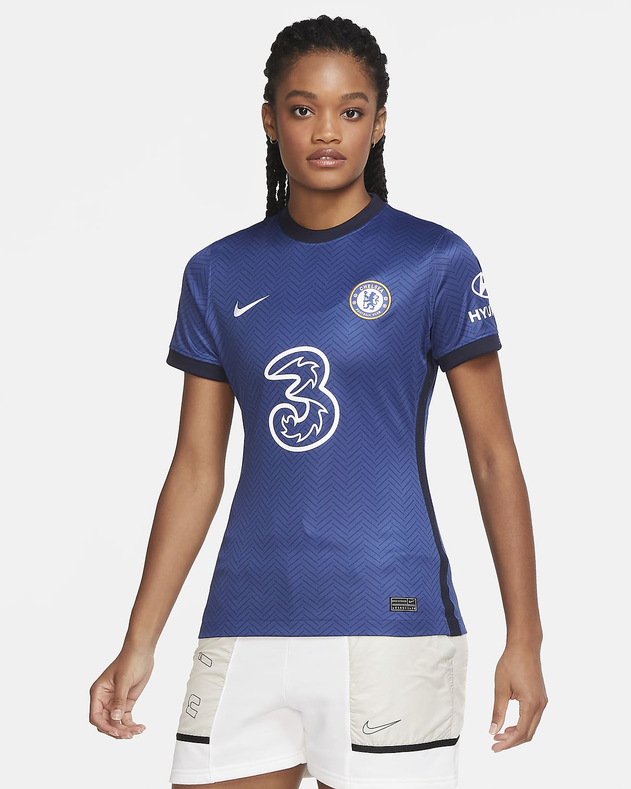 Chelsea F.C. 2020/21 Stadium Home Women's Football Shirt