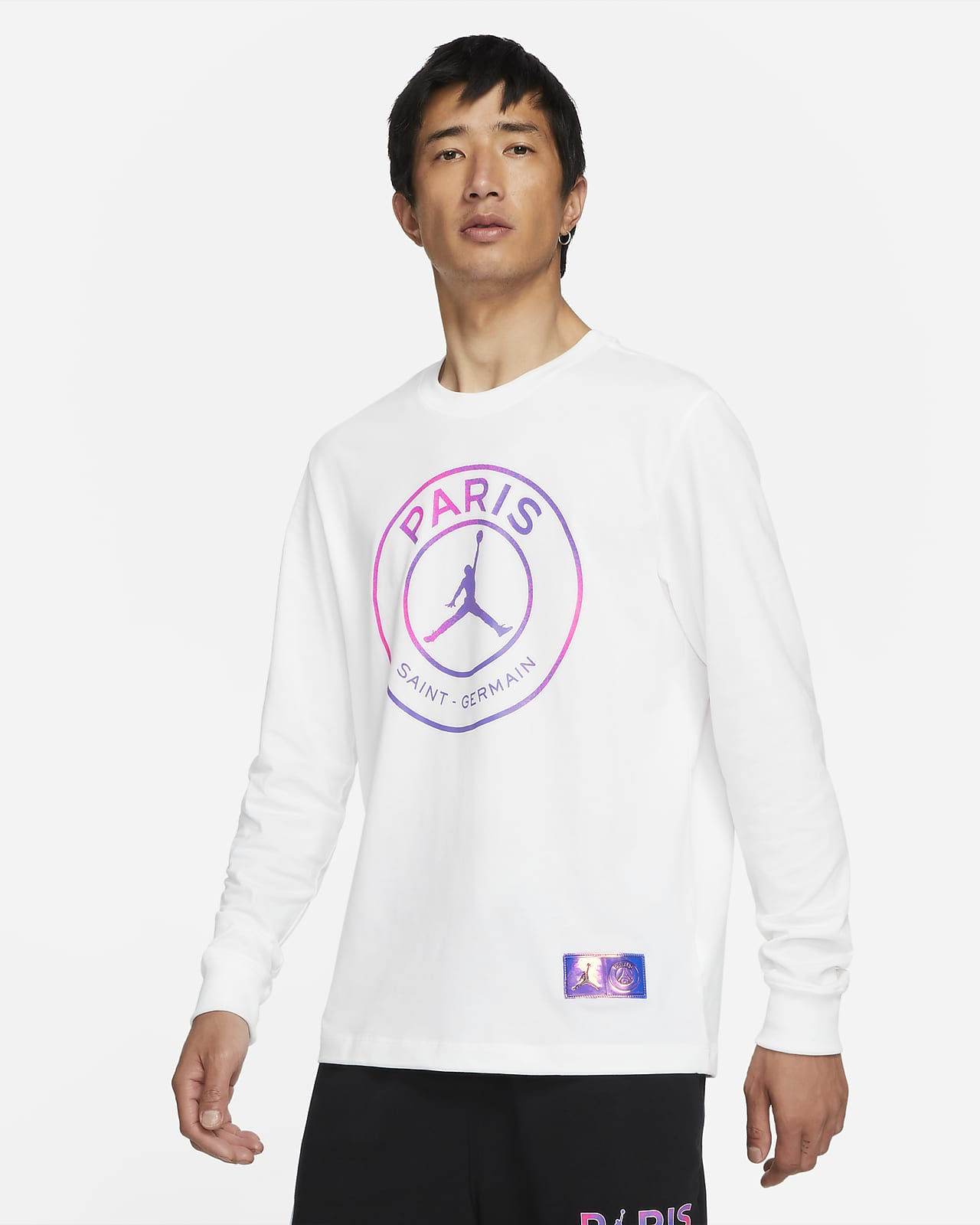 Paris Saint-germain 男款長袖 T 恤