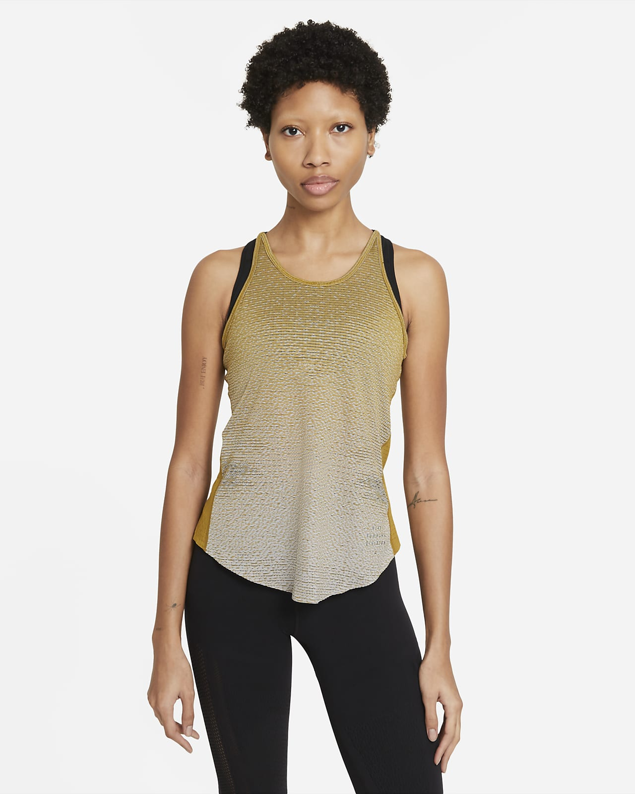 Camiseta de tirantes de running diseñada para mujer Nike Run Division