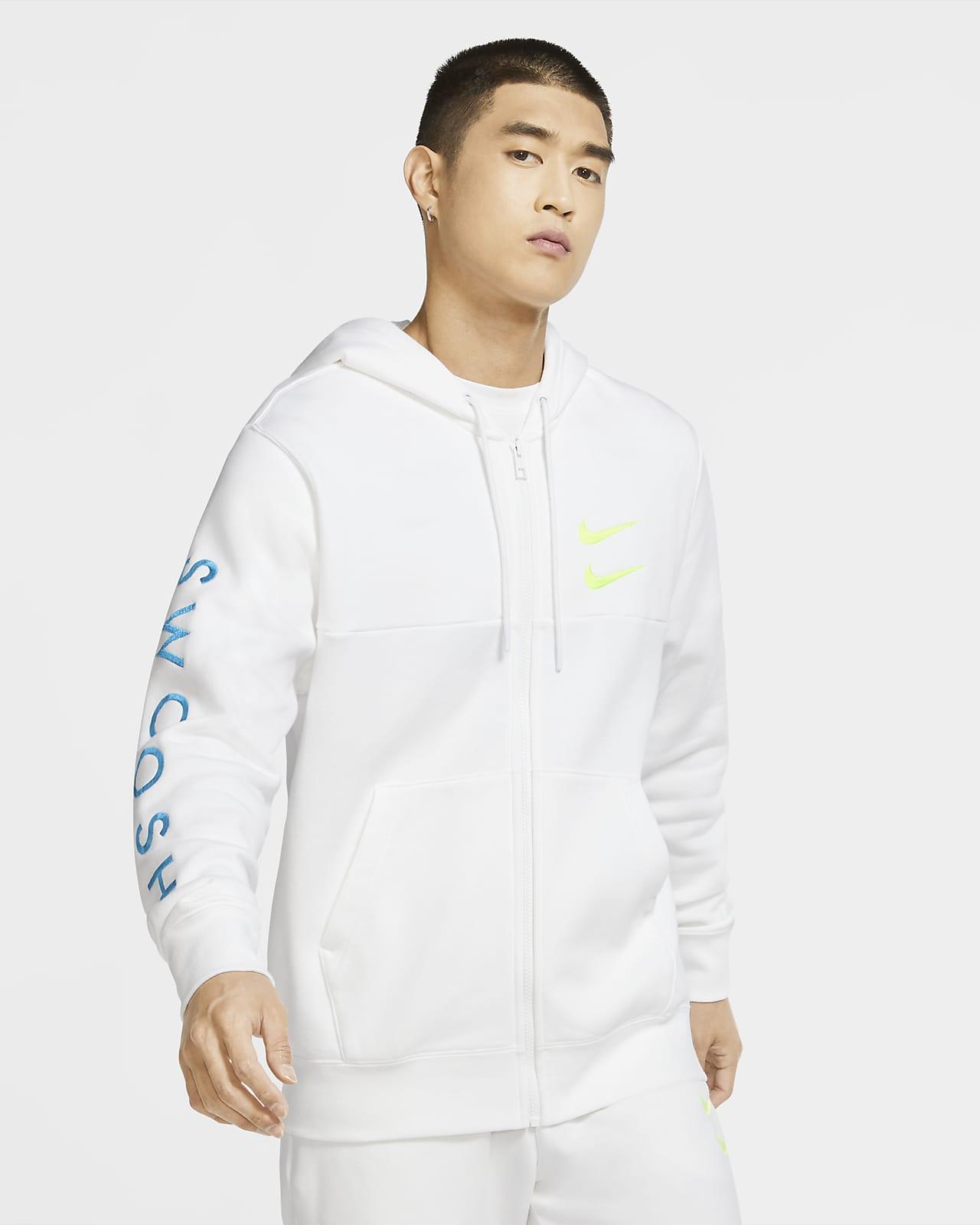 Sweat à capuche à zip Nike Sportswear Swoosh pour Homme