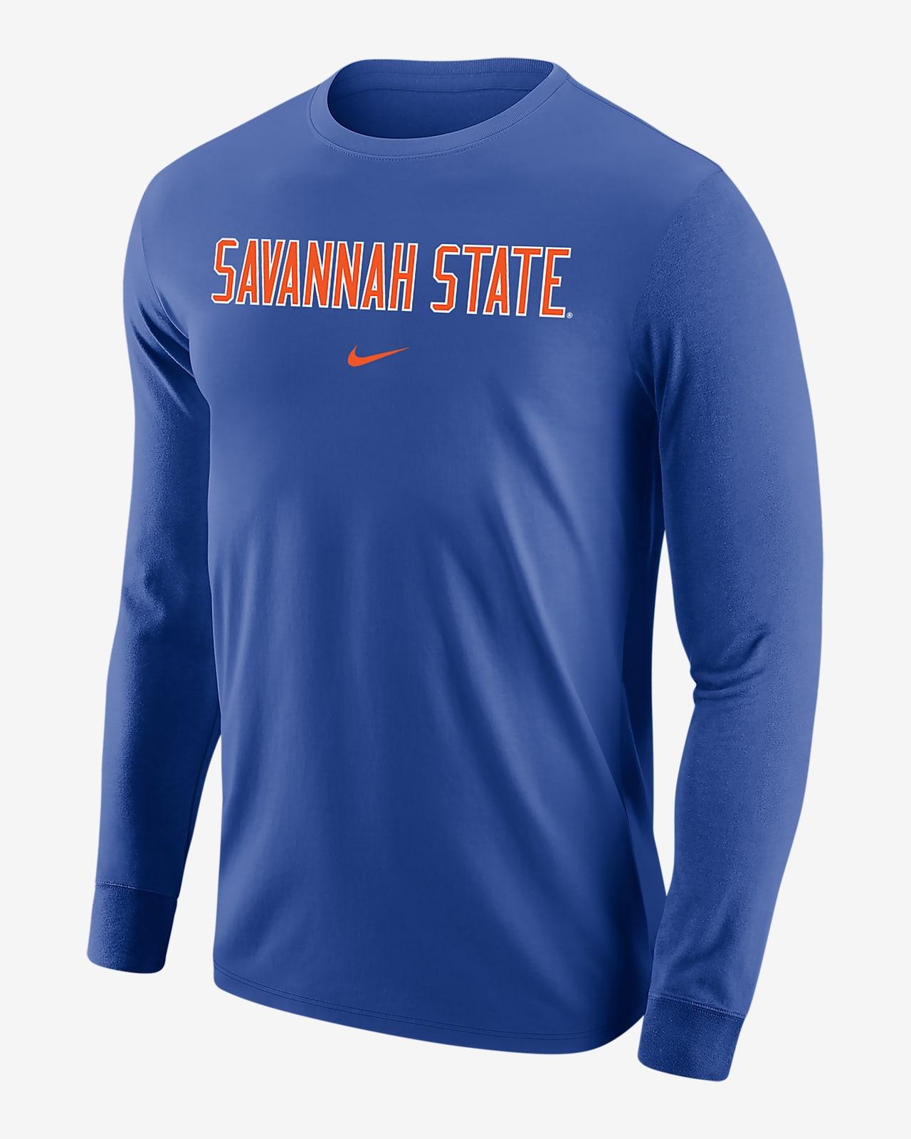 Nike College (Savannah State) Men's Long-Sleeve T-Shirt