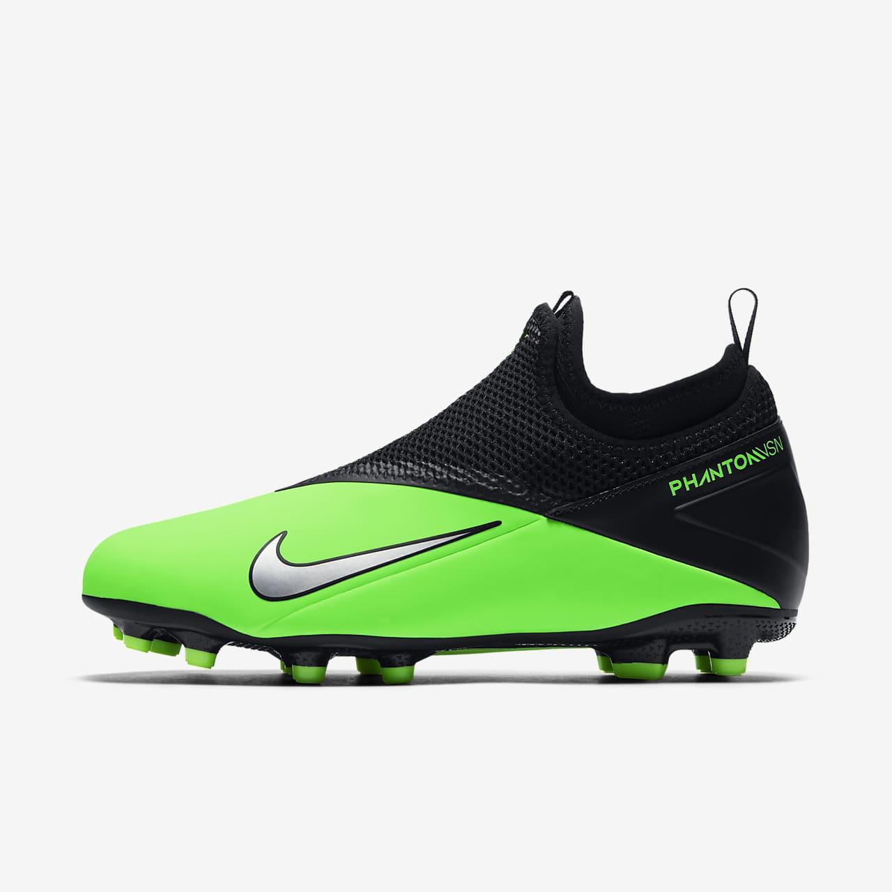 Nike Jr. Phantom Vision 2 Academy Dynamic Fit MG Botes de futbol per a terrenys diversos - Nen/a i nen/a petit/a