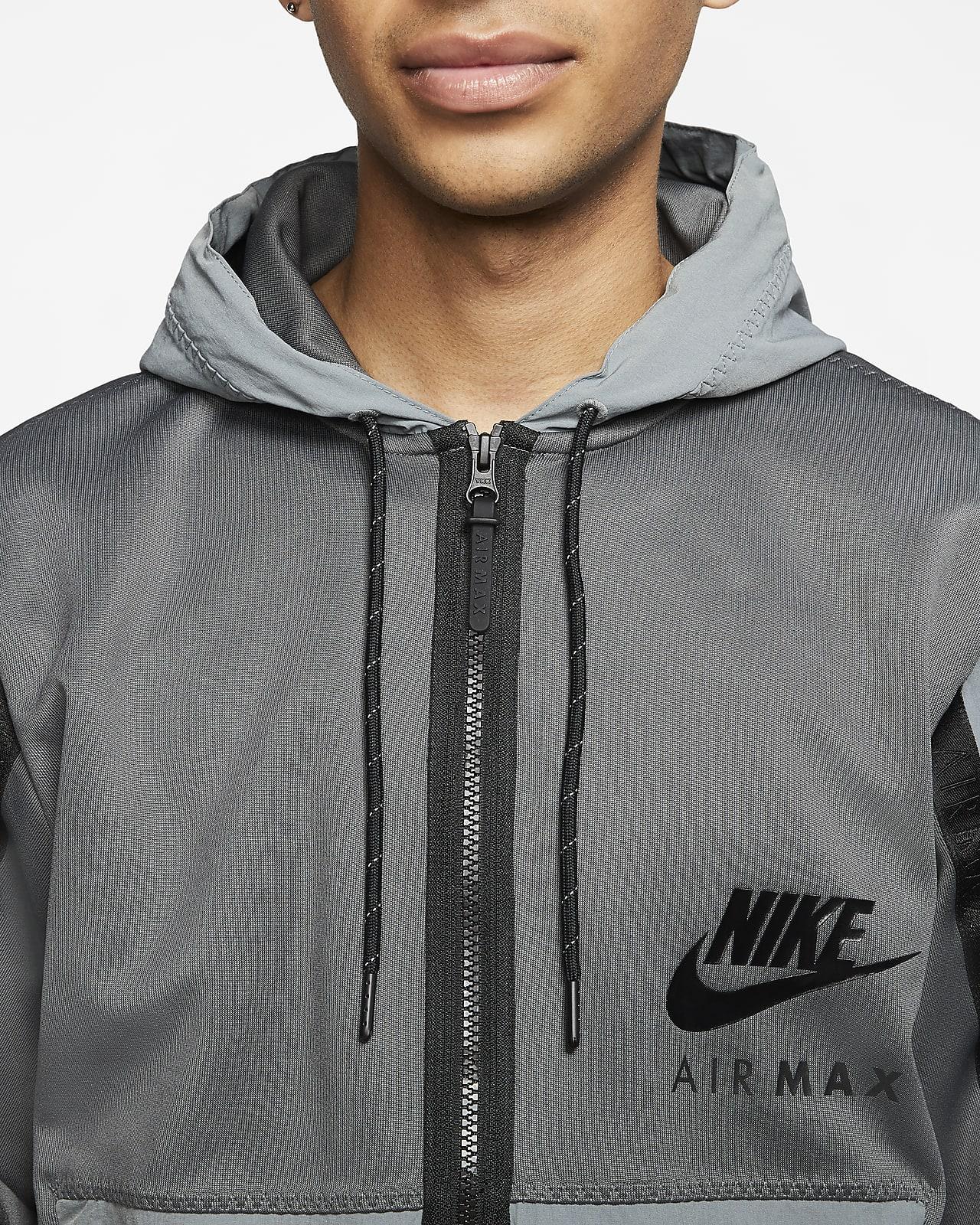 Sweat à capuche à zip intégral Nike Sportswear Air Max pour Homme
