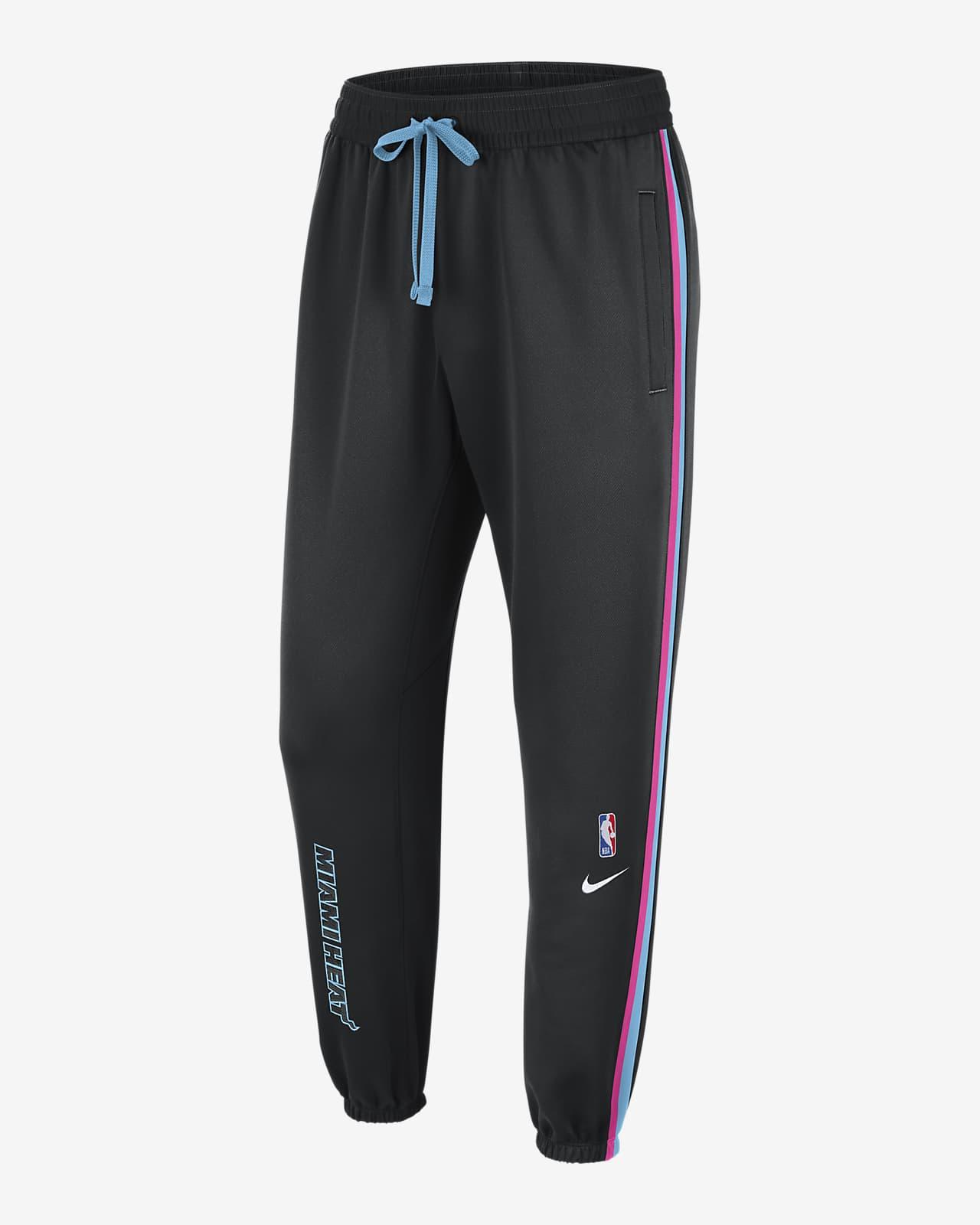 Pantalon Nike Therma Flex NBA Miami Heat Showtime City Edition pour Homme