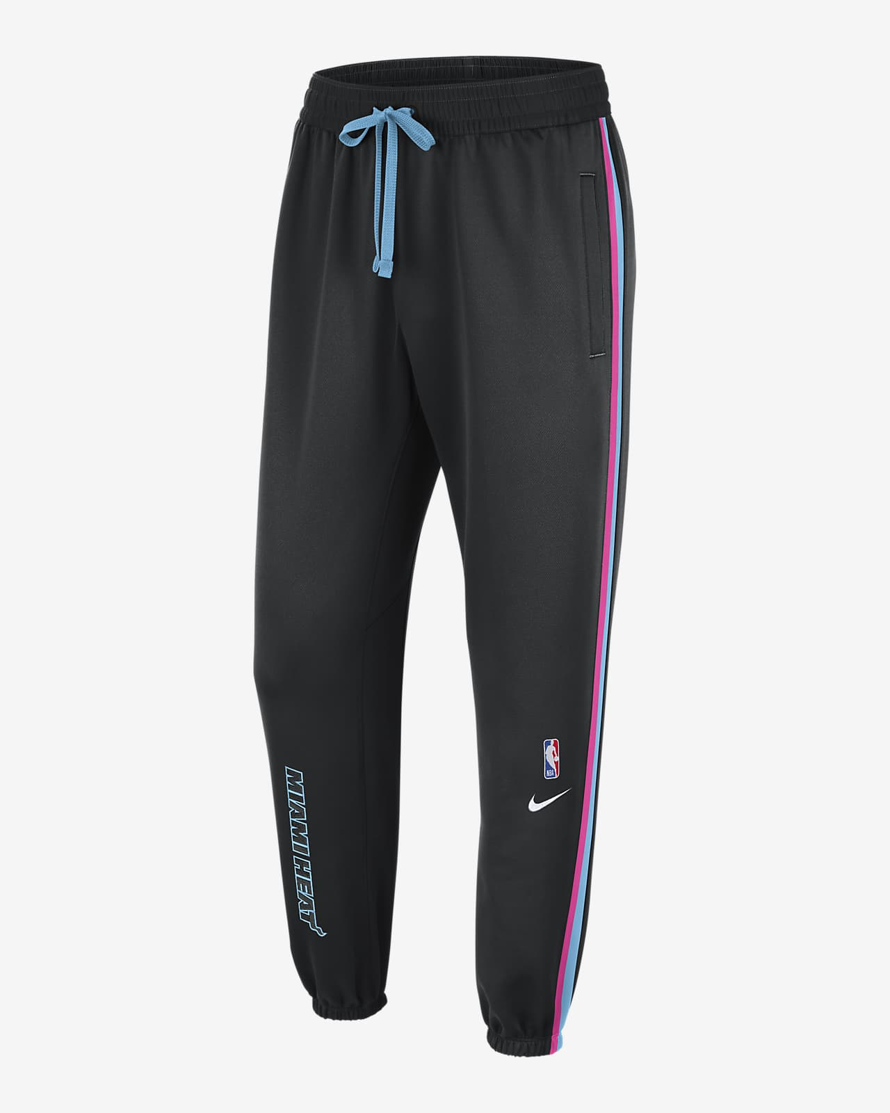 Pantalones de la NBA Nike Therma Flex para hombre Miami Heat Showtime City Edition