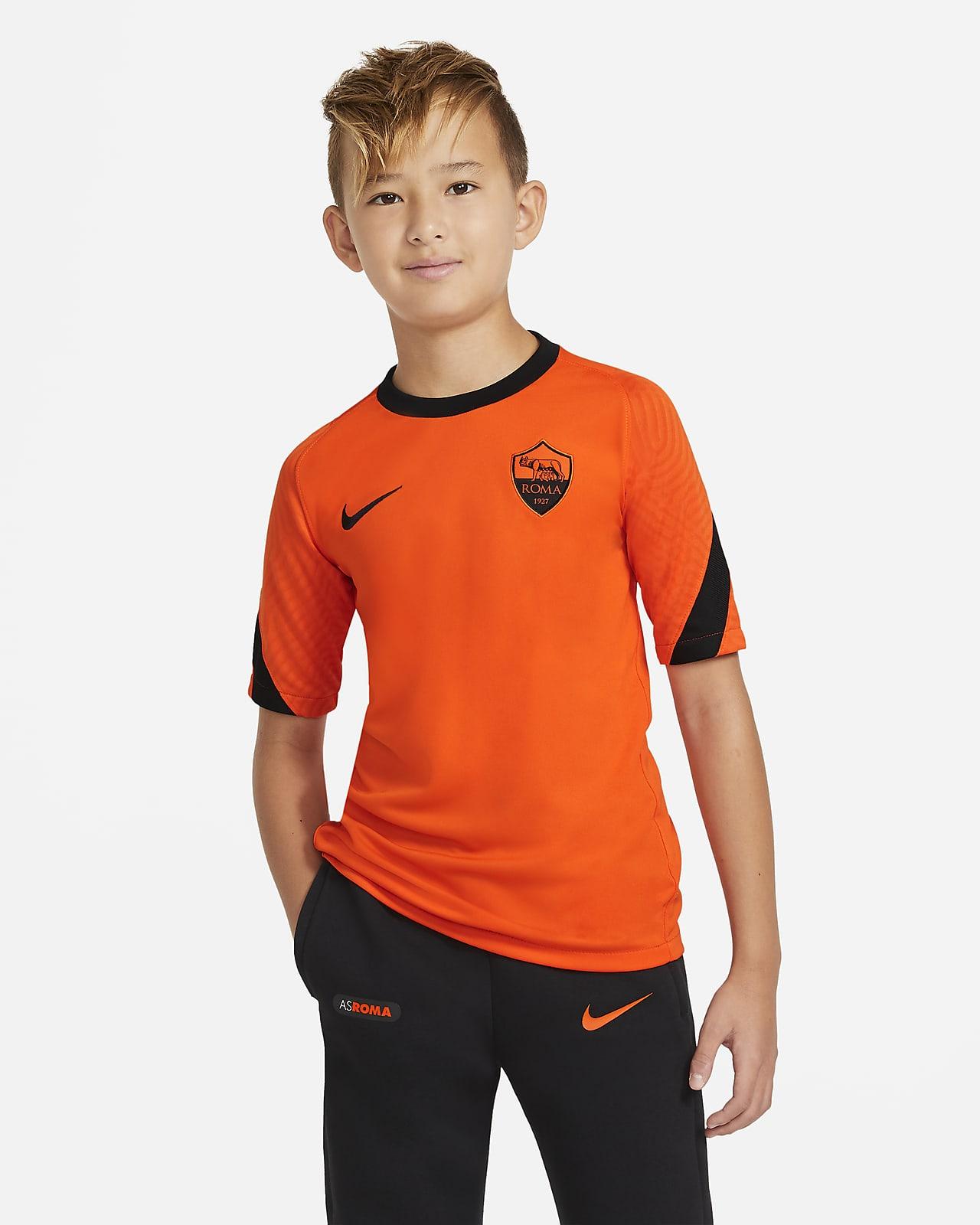 Fotbalové tričko AS Řím Strike skrátkým rukávem pro větší děti