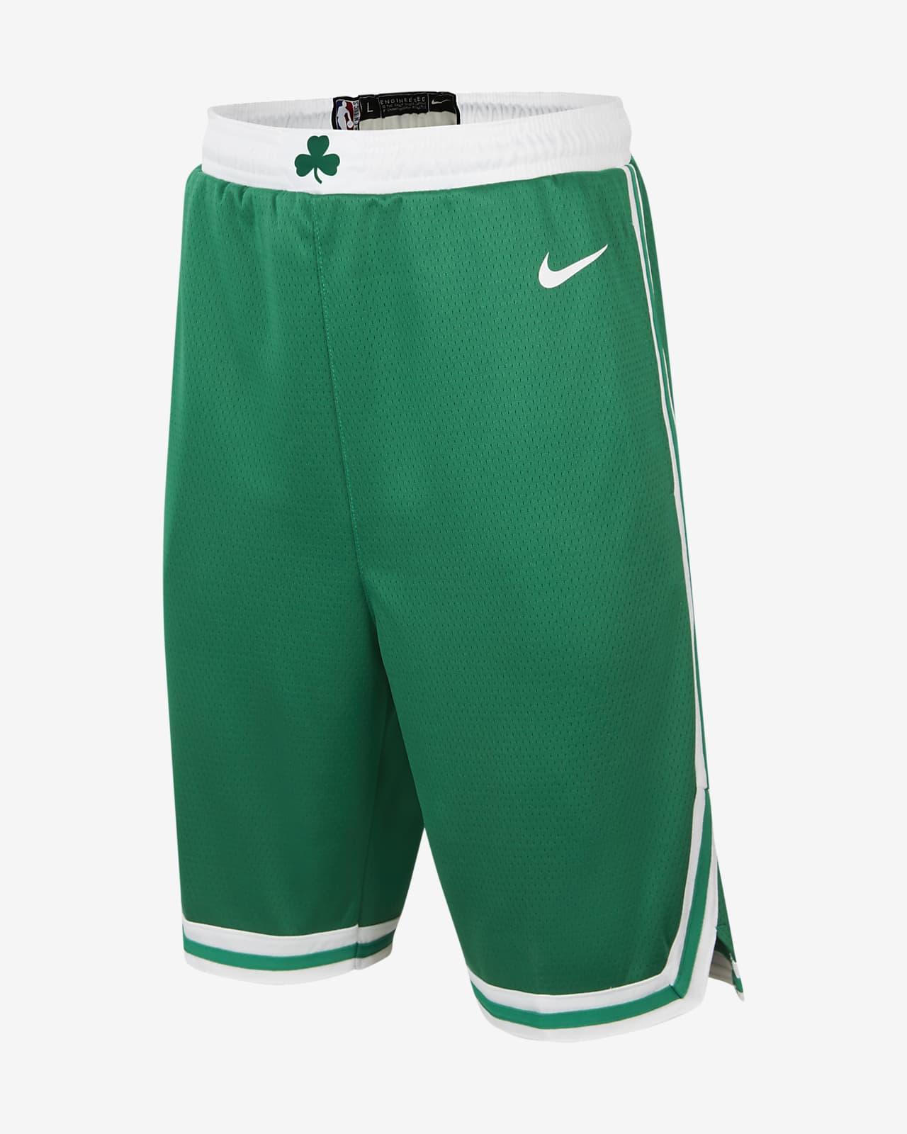 Boston Celtics Icon Edition Older Kids' Nike NBA Swingman Shorts