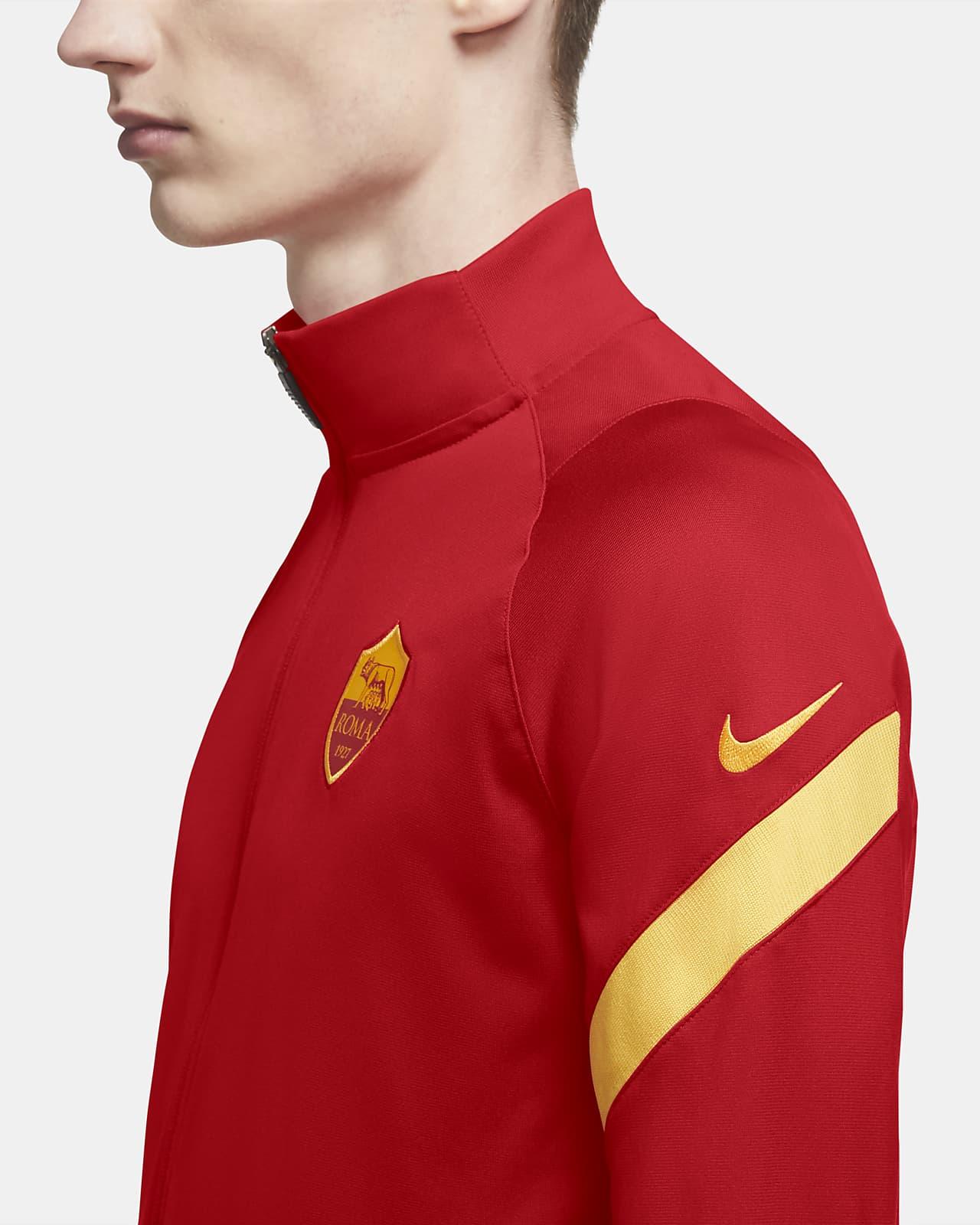 Intarsio Aratro Hassy  Tuta da calcio in maglia A.S. Roma Strike - Uomo. Nike IT