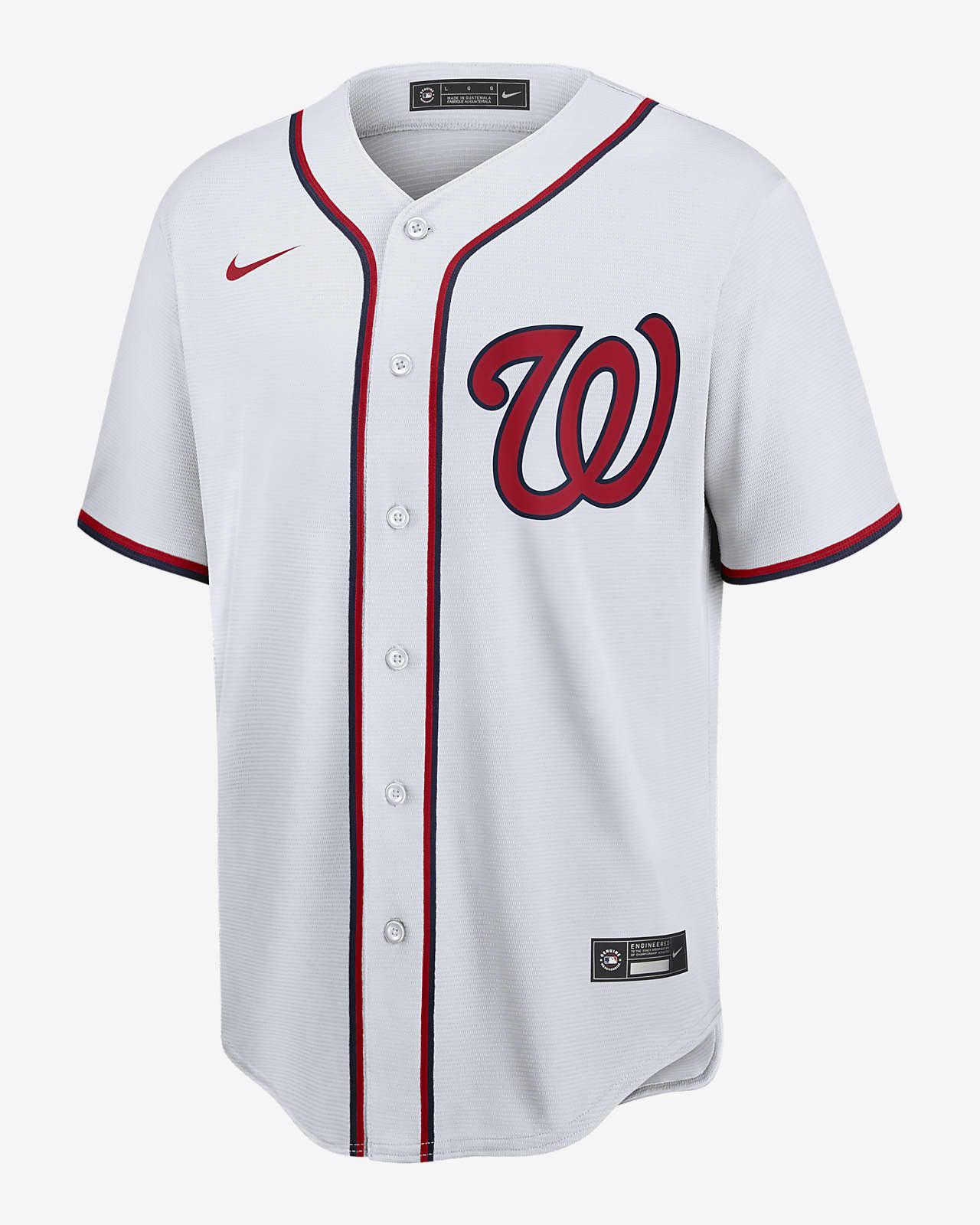 MLB Washington Nationals (Juan Soto) Men's Replica Baseball Jersey