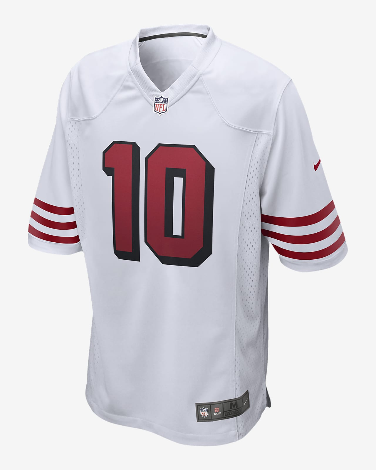 NFL San Francisco 49ers (Jimmy Garoppolo) Men's Game Football Jersey