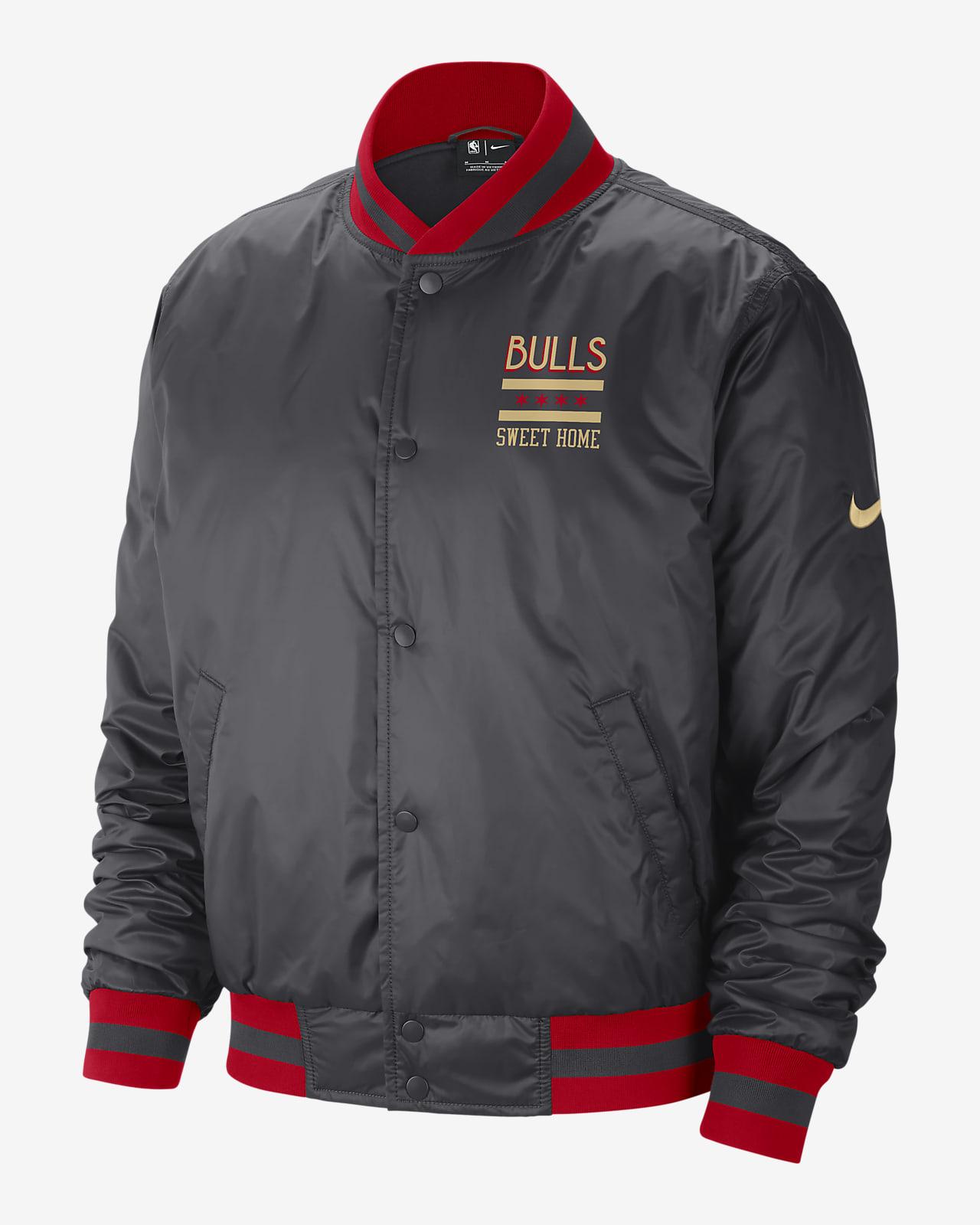 Chicago Bulls City Edition Courtside Men's Nike NBA Jacket