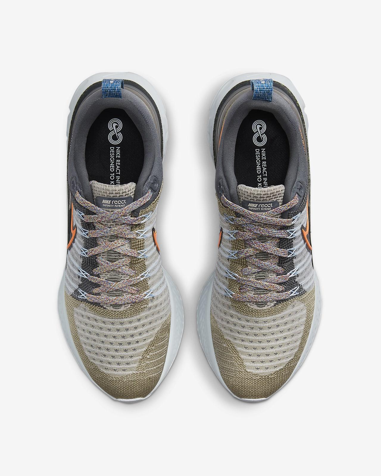 Nike React Infinity Run Flyknit 2 Men's Road Running Shoes. Nike.com