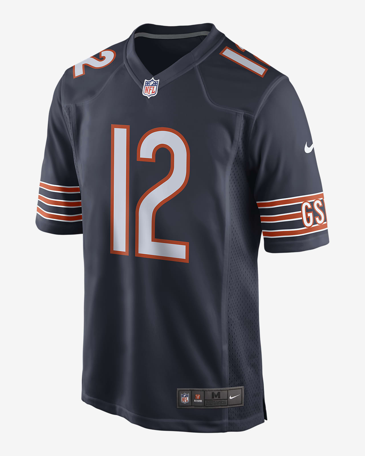 NFL Chicago Bears (Allen Robinson) Men's Game Football Jersey