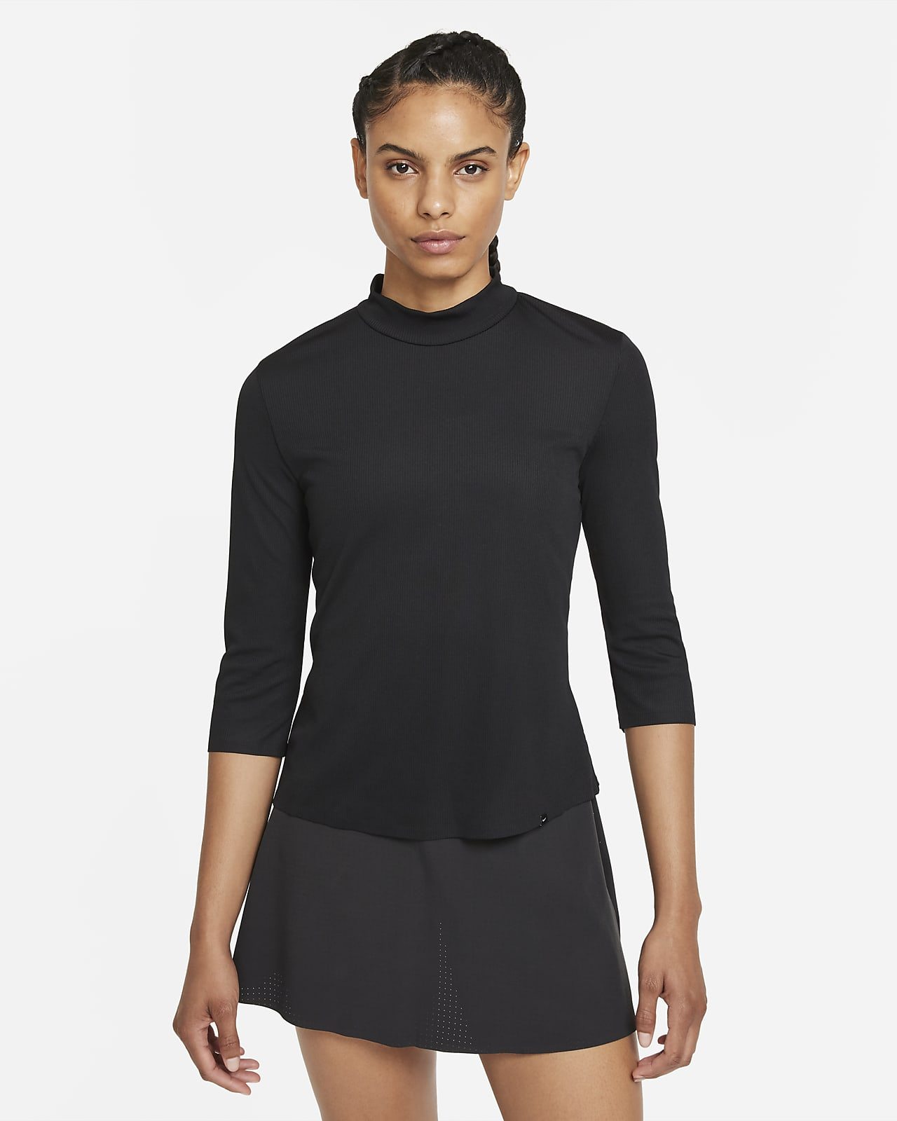 Haut de golf à col montant Nike Dri-FIT UV Ace pour Femme