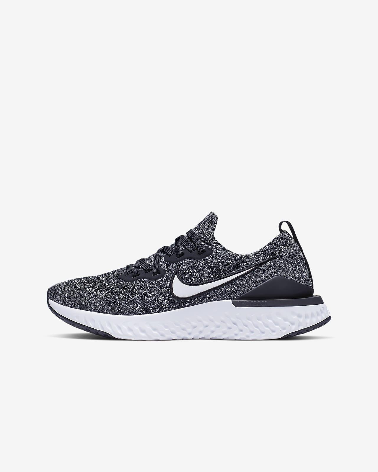 Nike Epic React Flyknit 2 Big Kids Running Shoe Nike Com