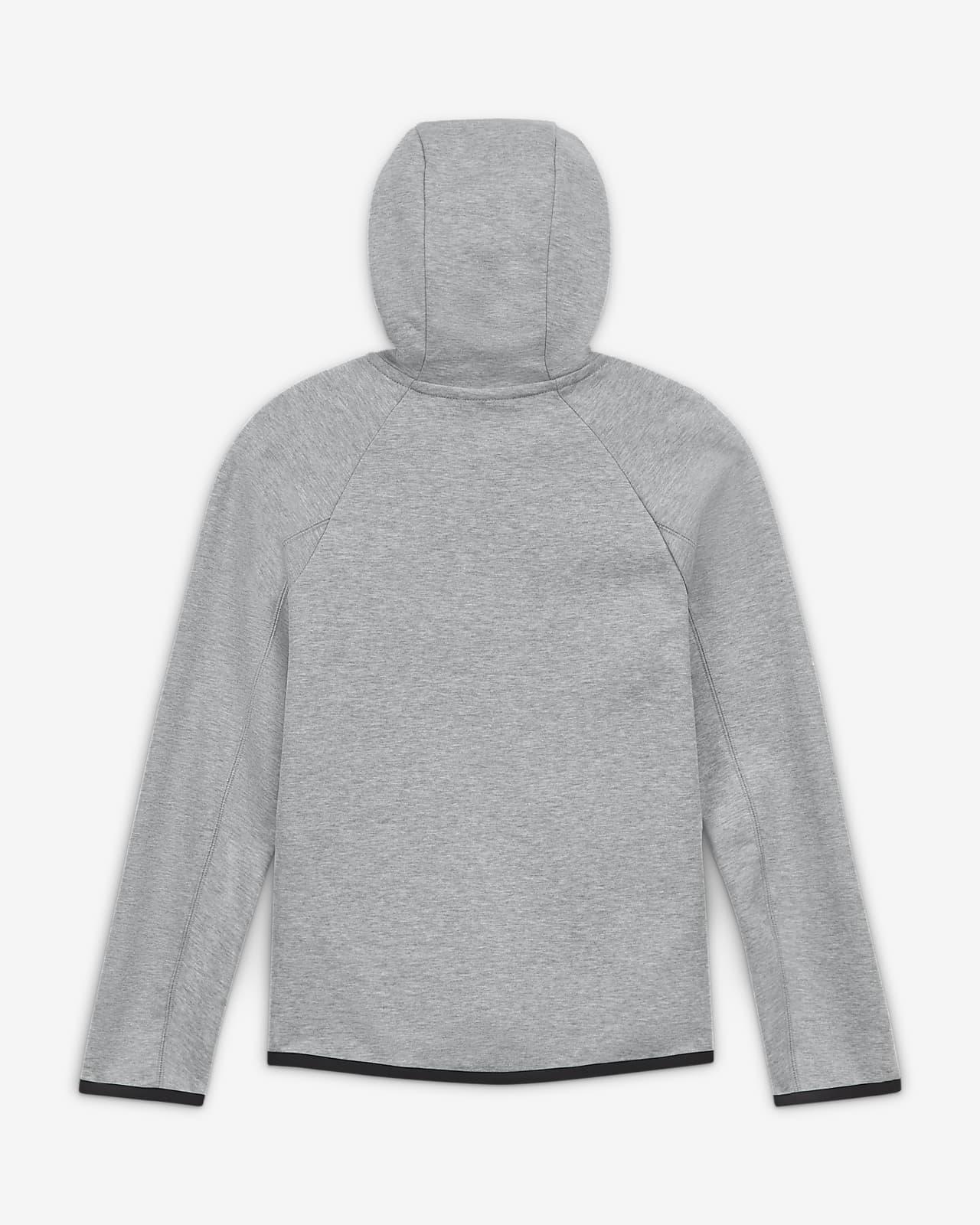 Sweat à capuche de football avec zip Liverpool FC Tech Fleece pour Enfant plus âgé