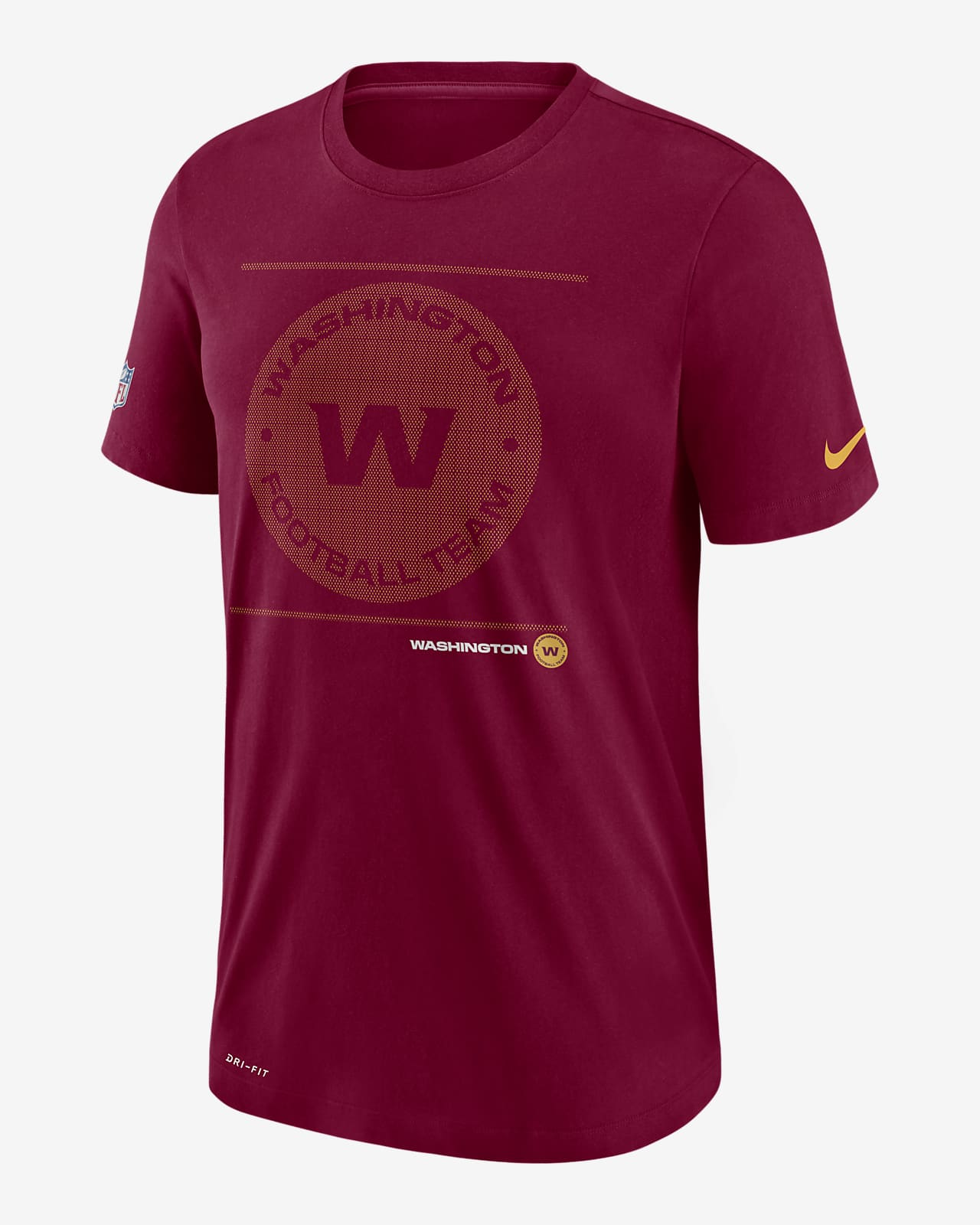 Nike Dri-FIT Sideline Team Issue (NFL Washington Football Team) Men's T-Shirt