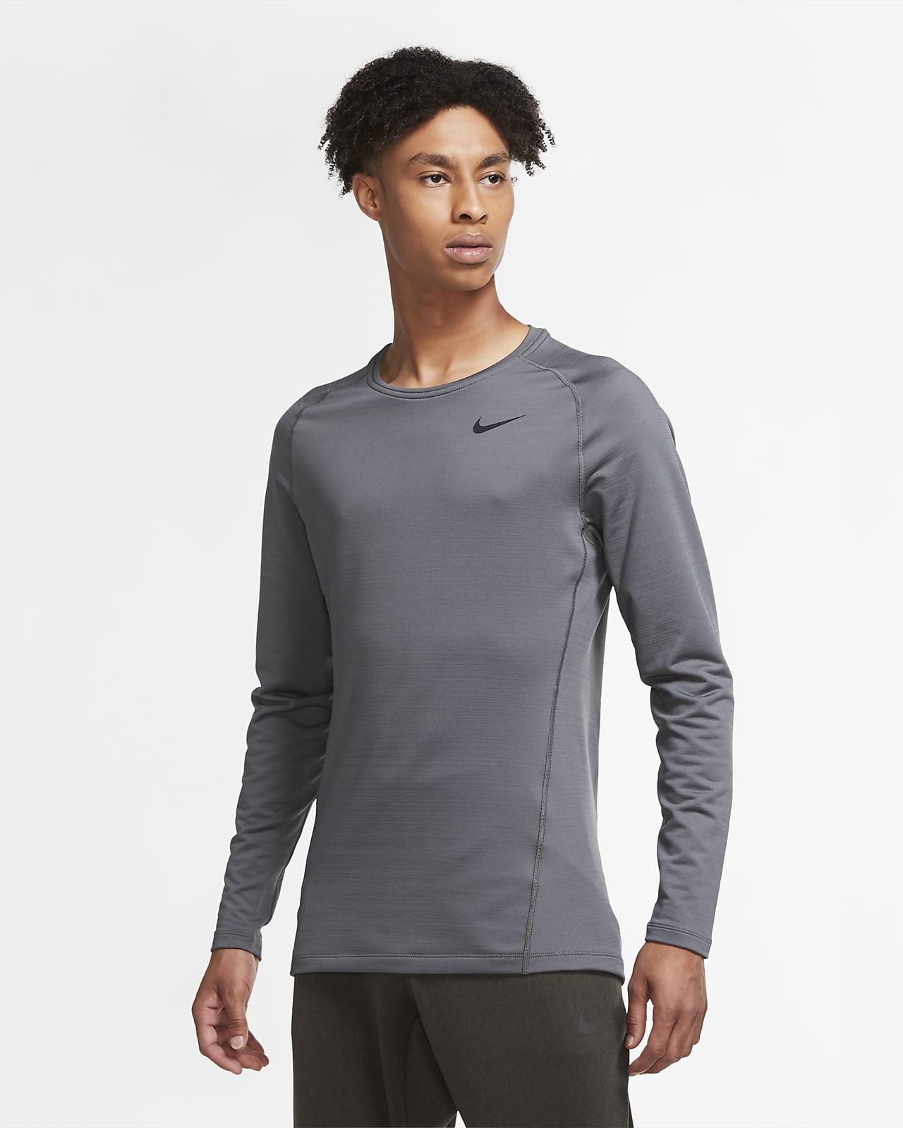 Męska koszulka z długim rękawem Nike Pro Warm
