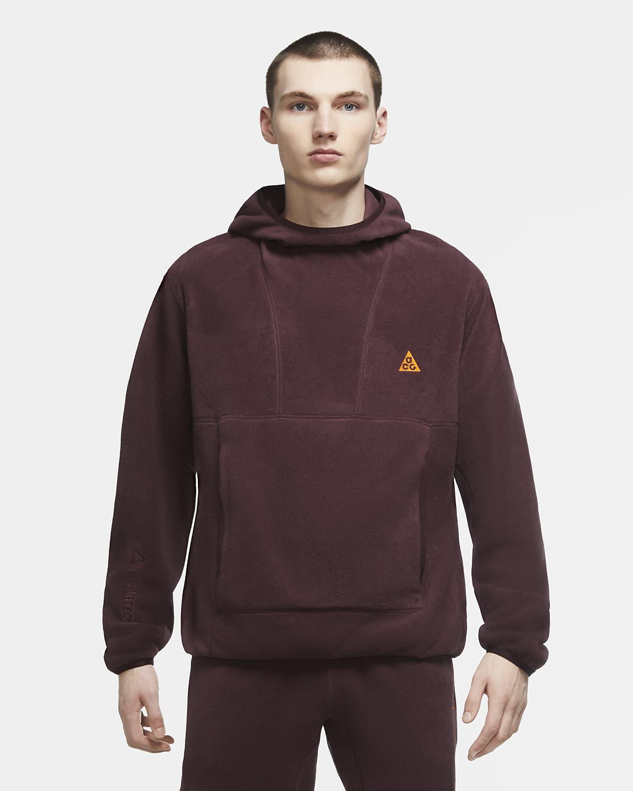 """เสื้อมีฮู้ดผู้ชายแบบสวม Nike ACG Polartec® """"Wolf Tree"""""""