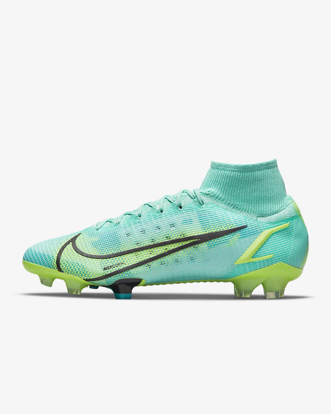 Nike Mercurial Superfly 8 Elite FG 天然偏硬草地足球釘鞋