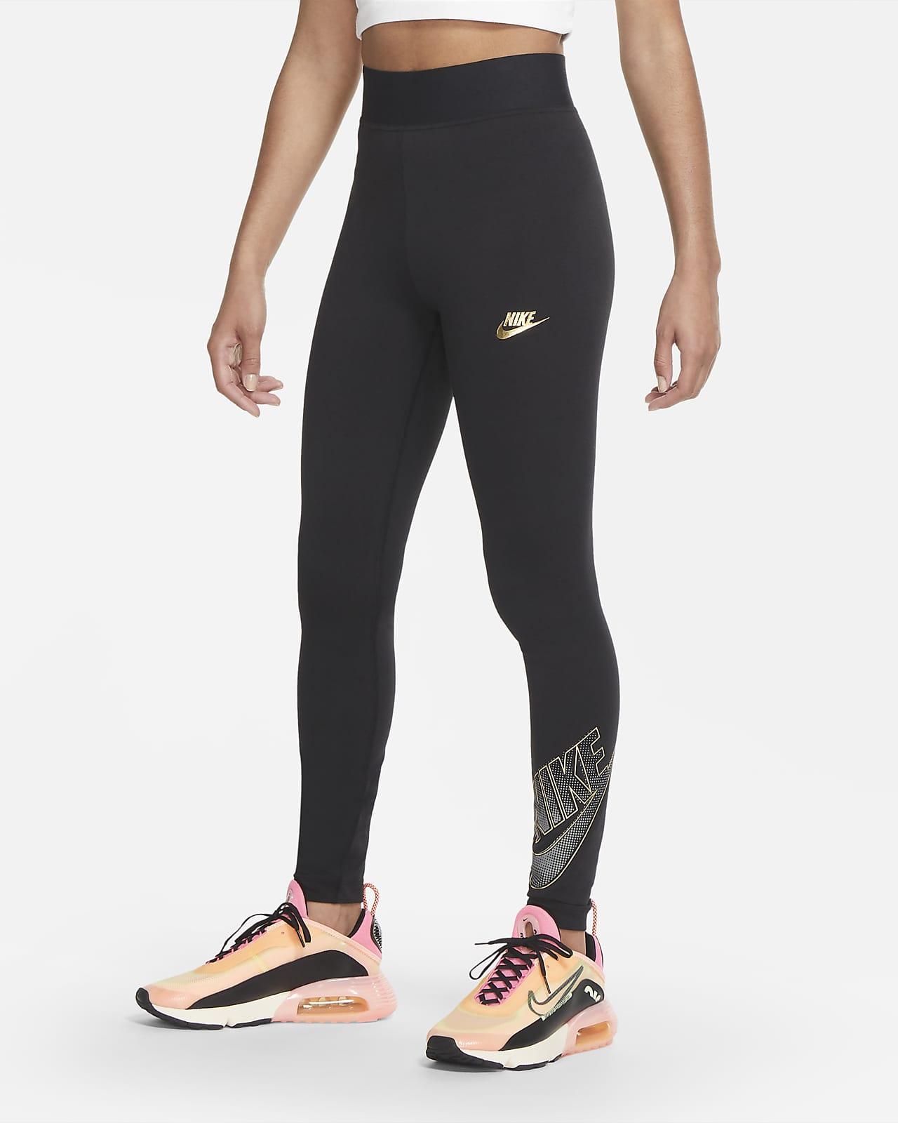 Nike Sportswear Club-leggings med høj talje til kvinder