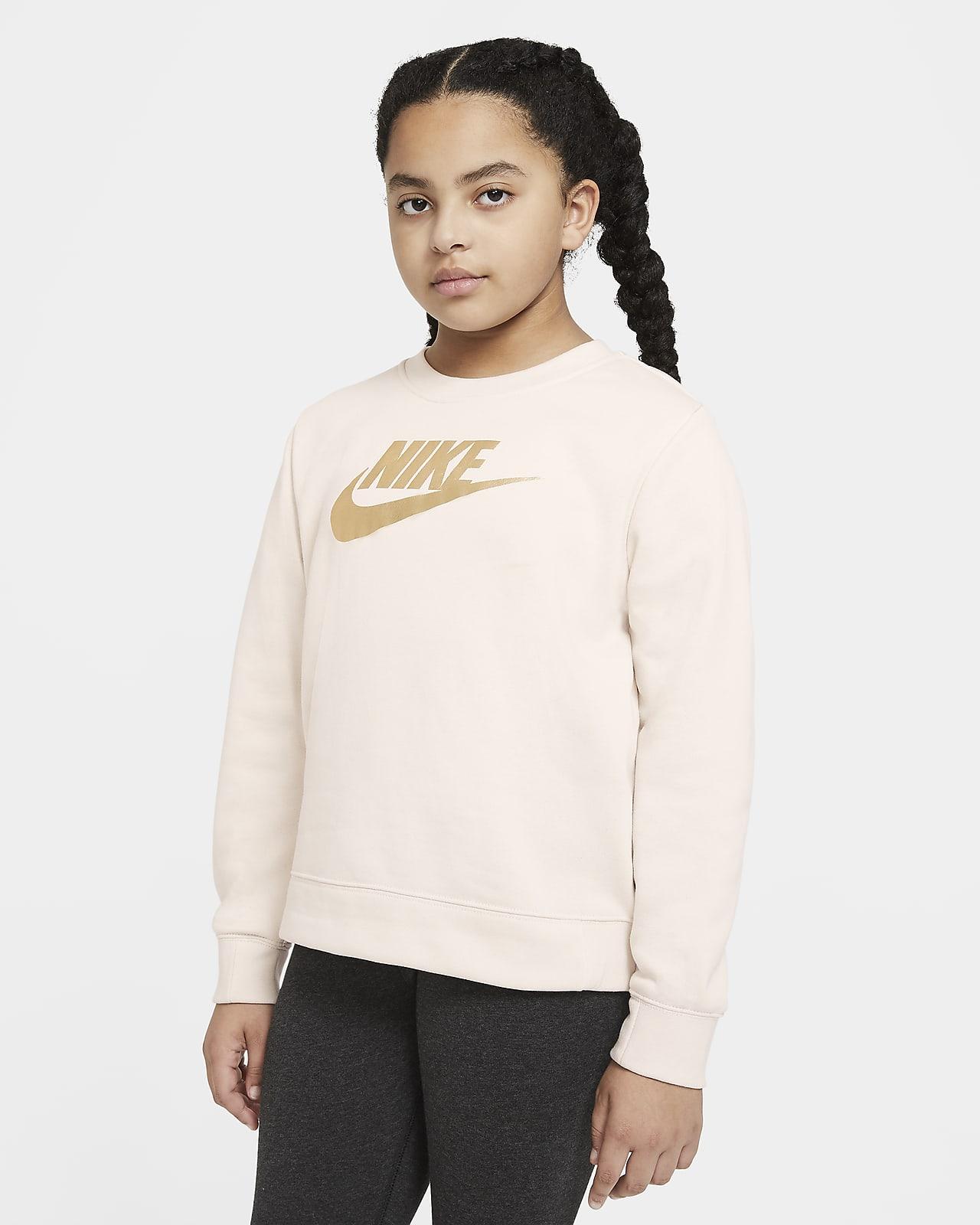 Nike Sportswear Big Kids' (Girls') Crew (Extended Size)