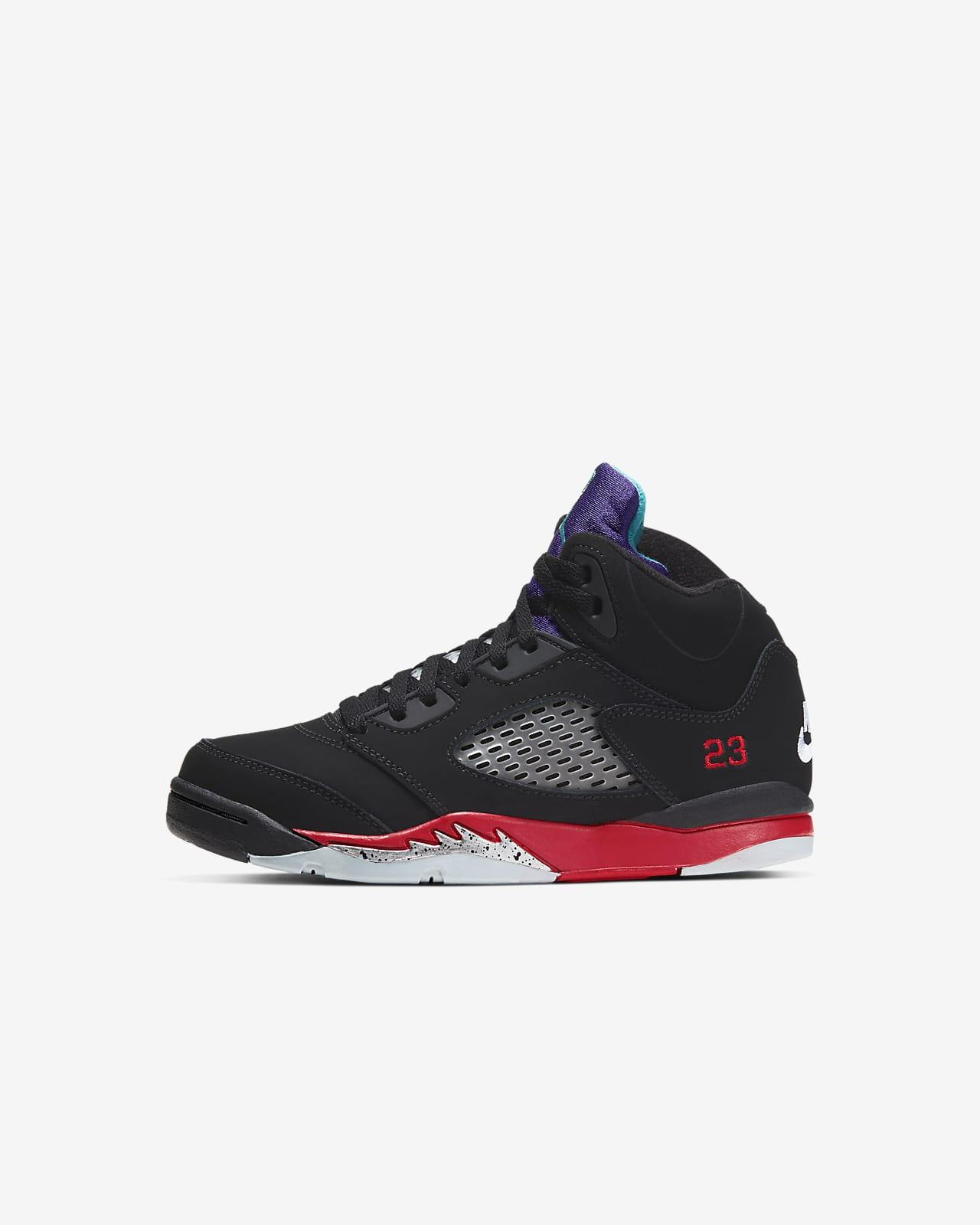Jordan 5 Retro Younger Kids' Shoe. Nike SA