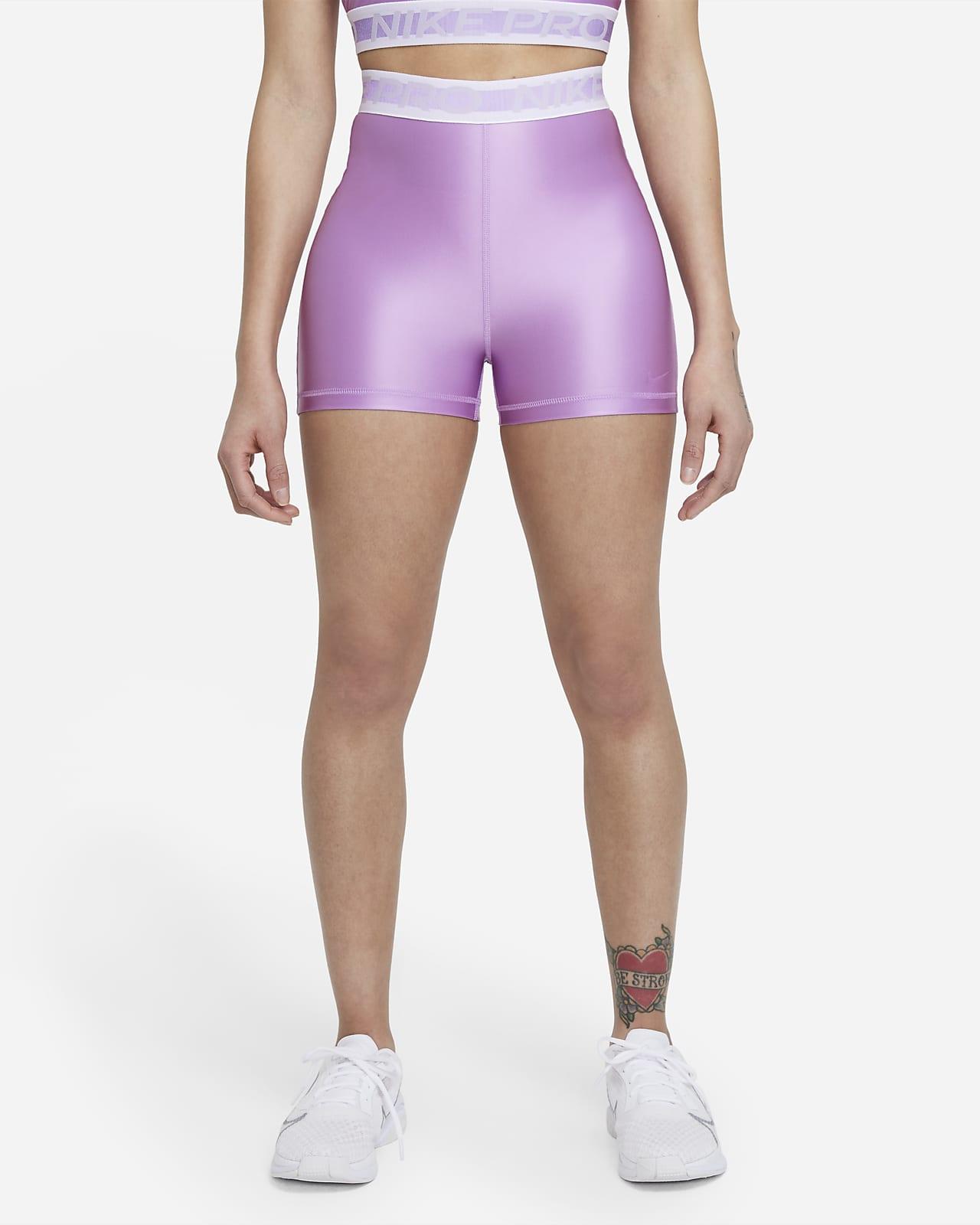 Shorts de 18 cm y tiro alto para mujer Nike Pro