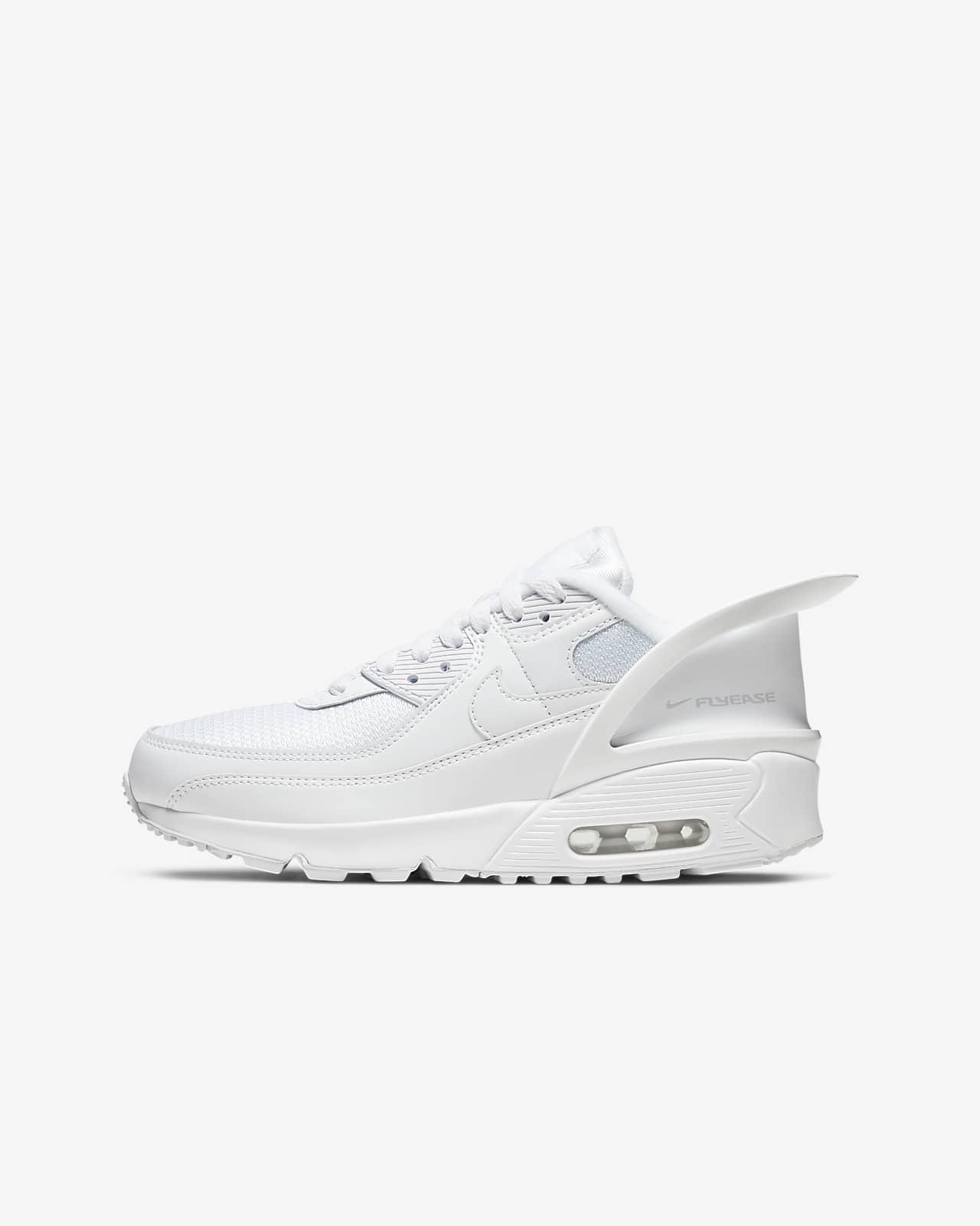 Sko Nike Air Max 90 FlyEase för ungdom