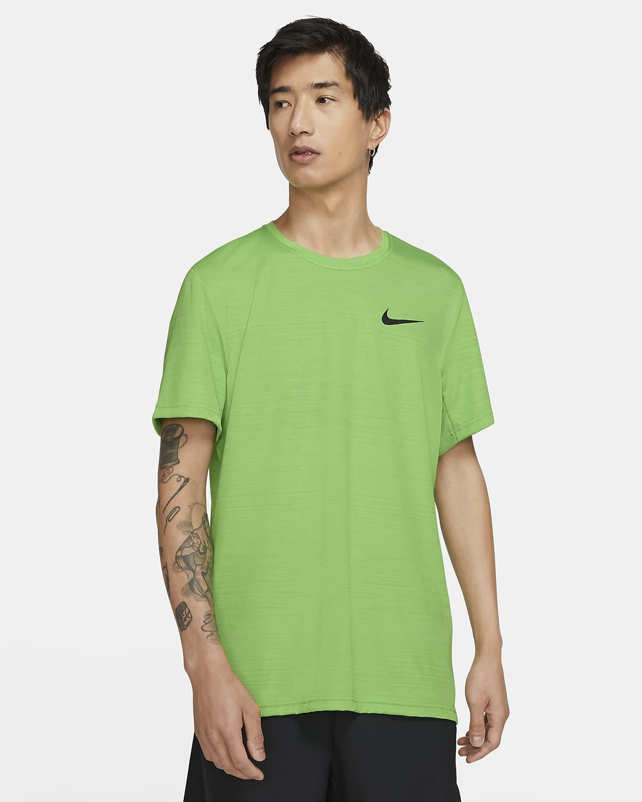 Kortärmad träningströja Nike Dri-FIT Superset för män