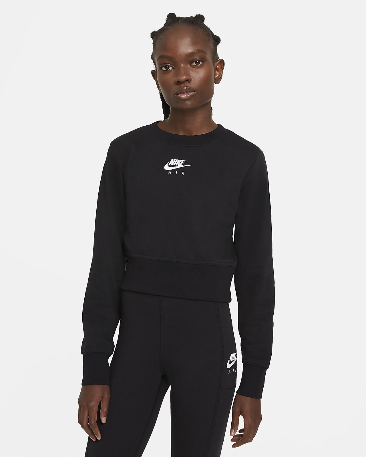 Nike Air Damestop met ronde hals