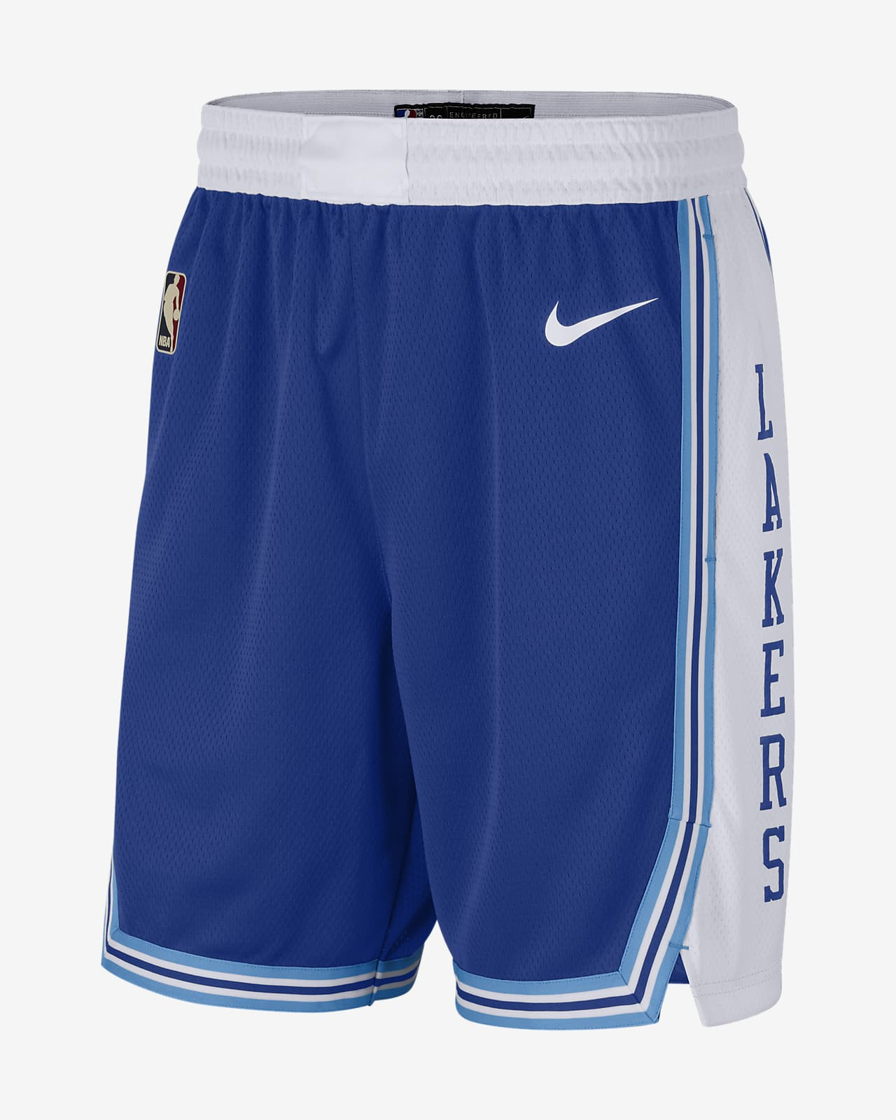 2020 赛季洛杉矶湖人队 Classic Edition Nike NBA Swingman 男子短裤