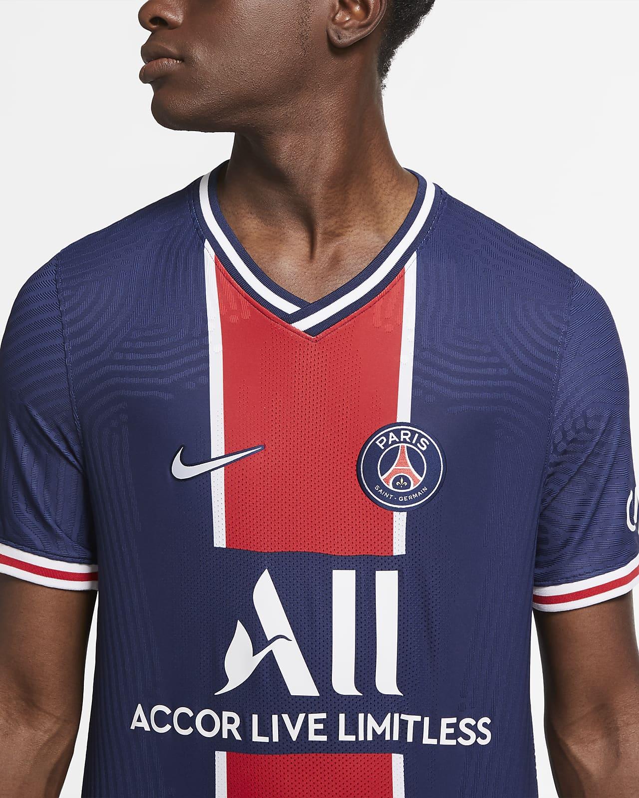 Cambiable Meandro Por separado  Paris Saint-Germain 2020/21 Vapor Match Home Men's Soccer Jersey. Nike.com