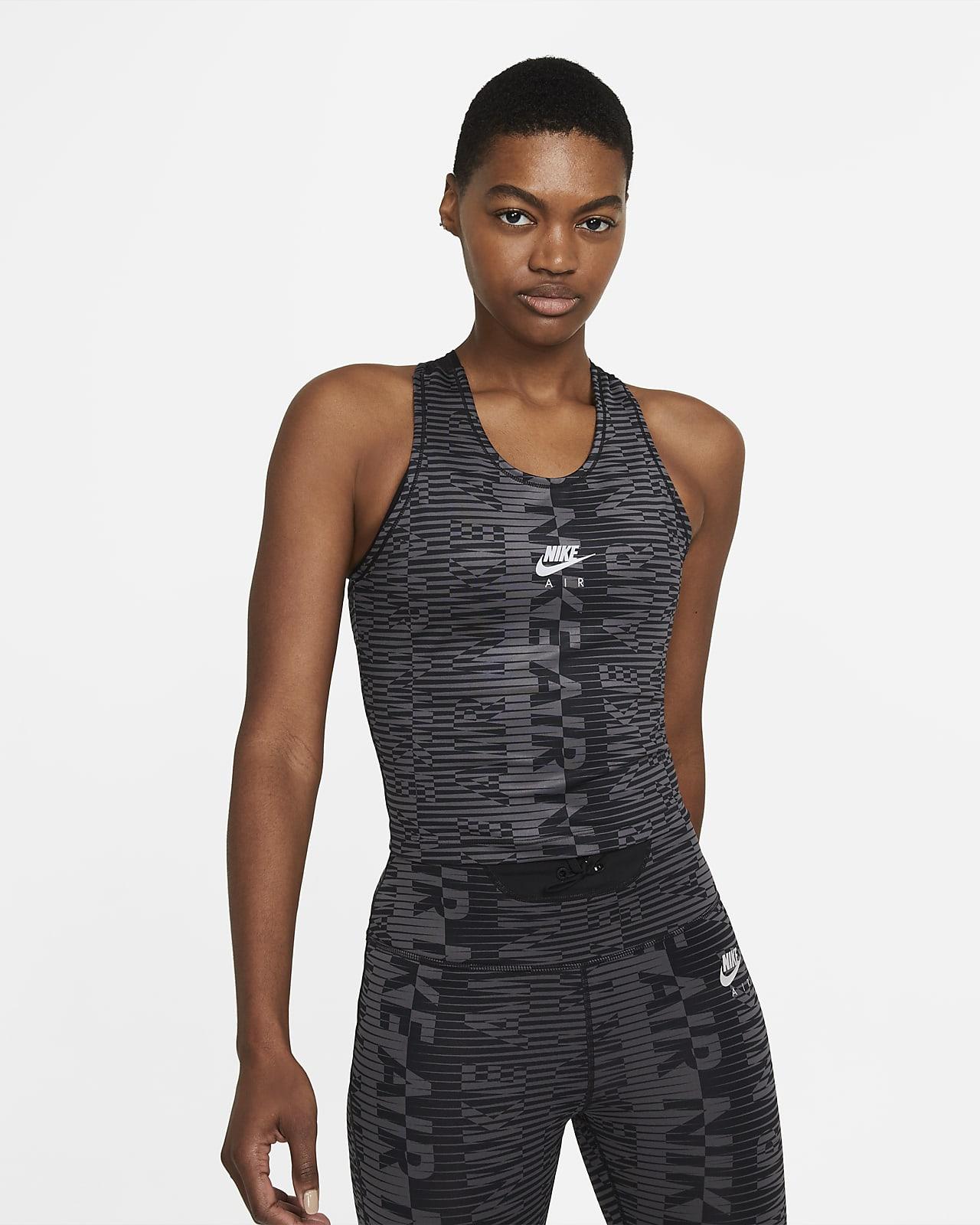 เสื้อกล้ามวิ่งผู้หญิงพิมพ์ลาย Nike Air