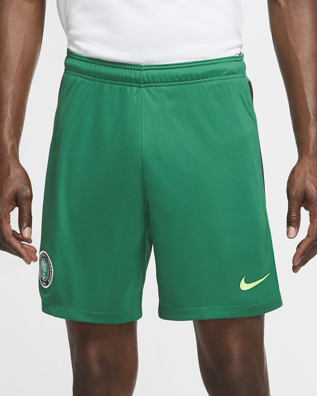 Nigeria 2020 Stadium Home Men's Soccer Shorts